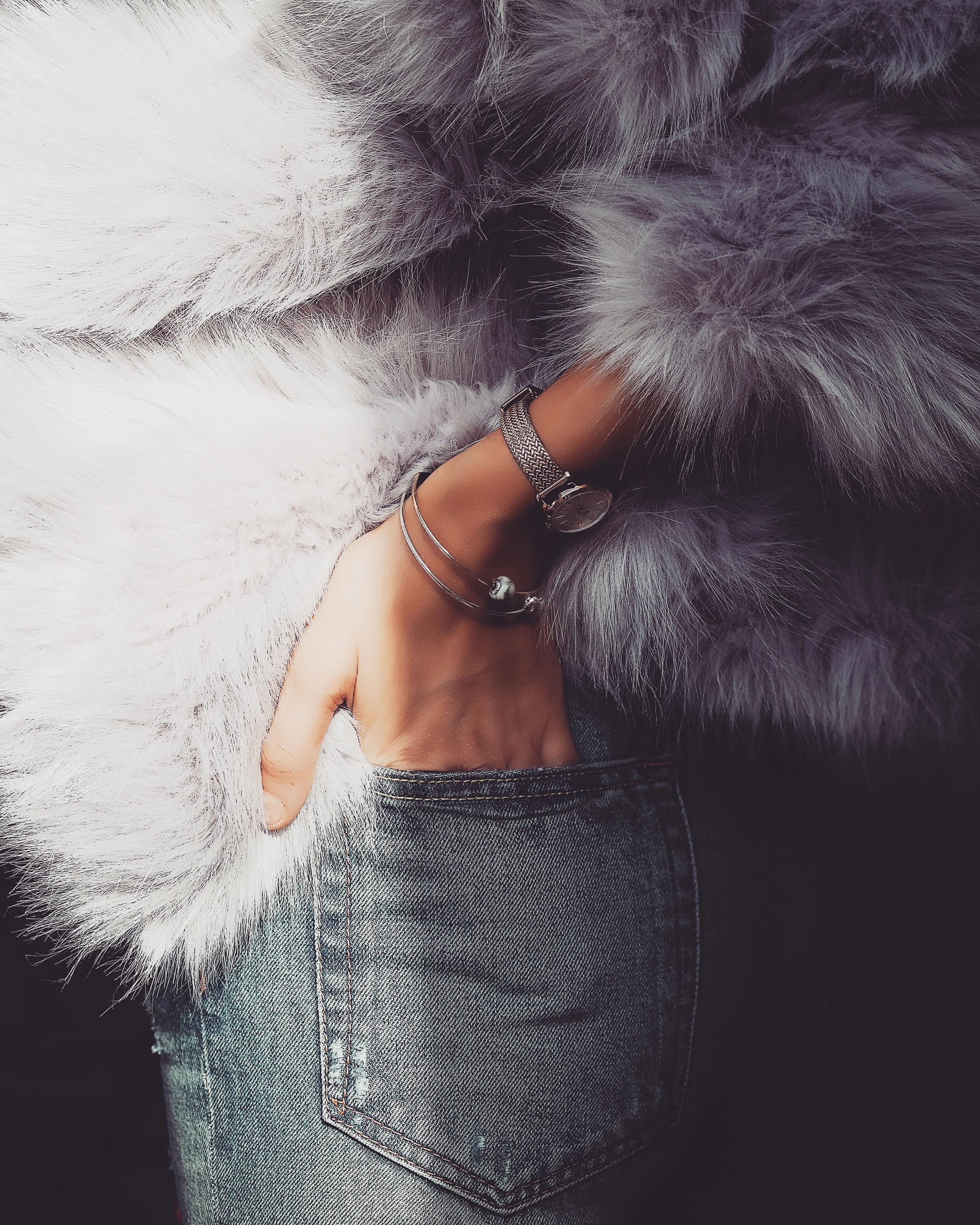 Fashion Week Prep - Faux Fur Coat