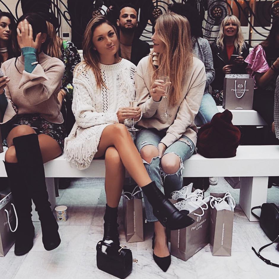 LFW Outfit Front Row Jumper