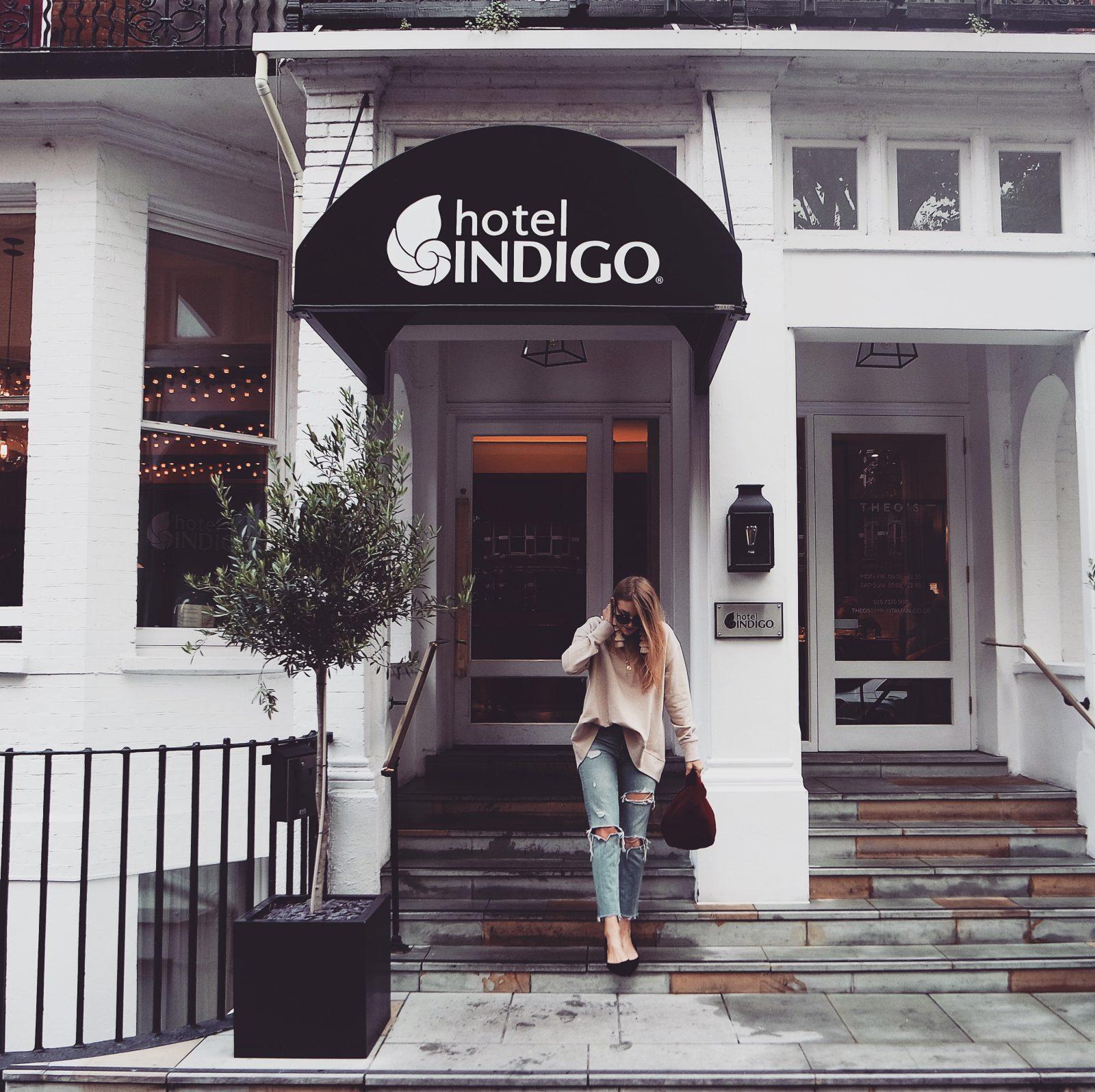 LFW Outfit -Hotel Indigo Kensington -