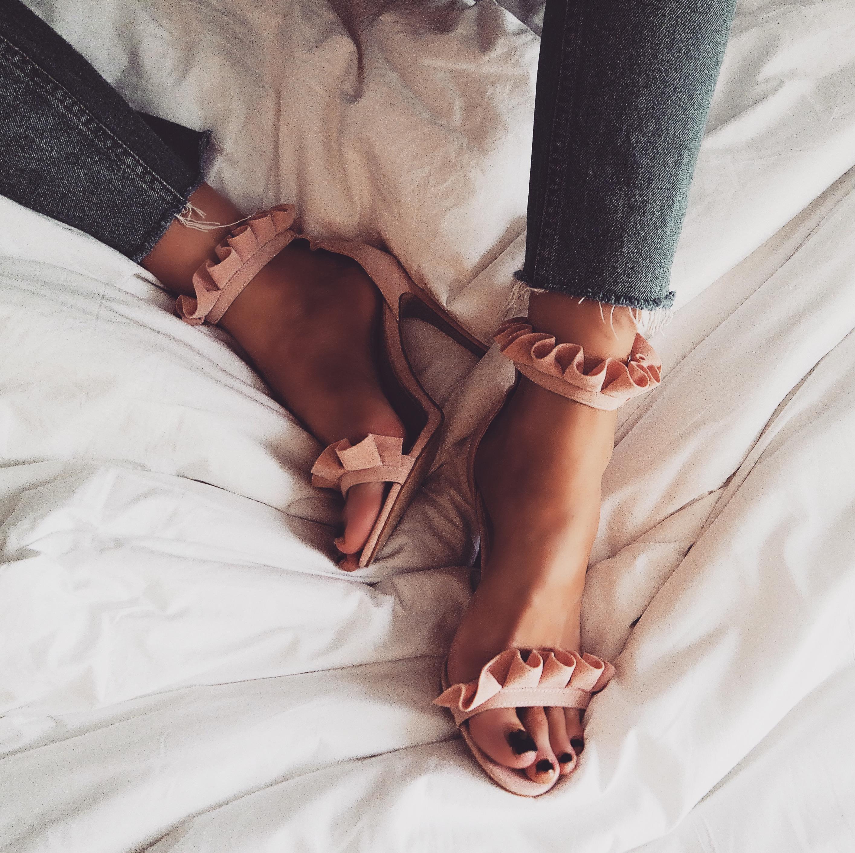 LFW Outfit - Public Desire Heels