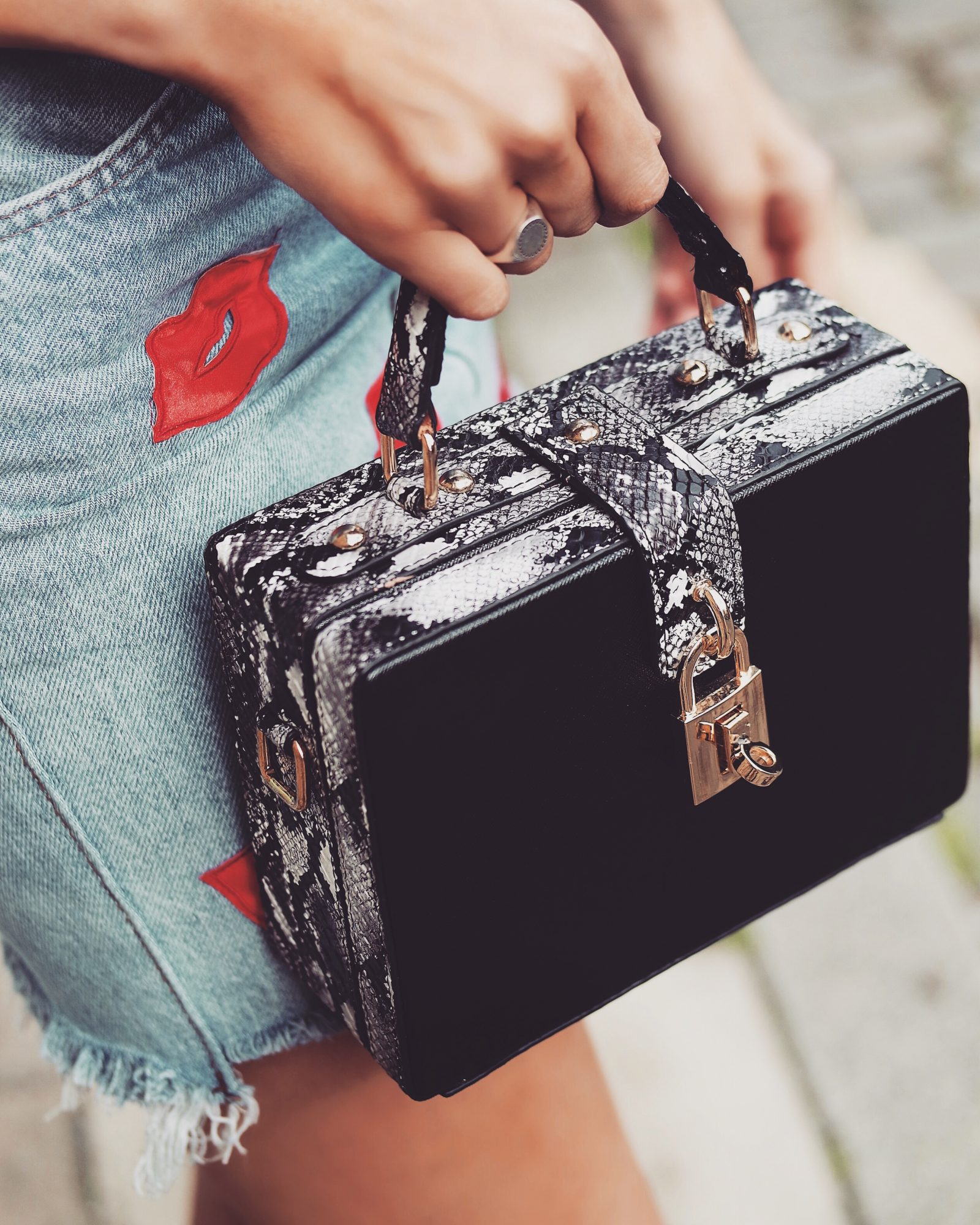 Nasty Gal - Box Bag