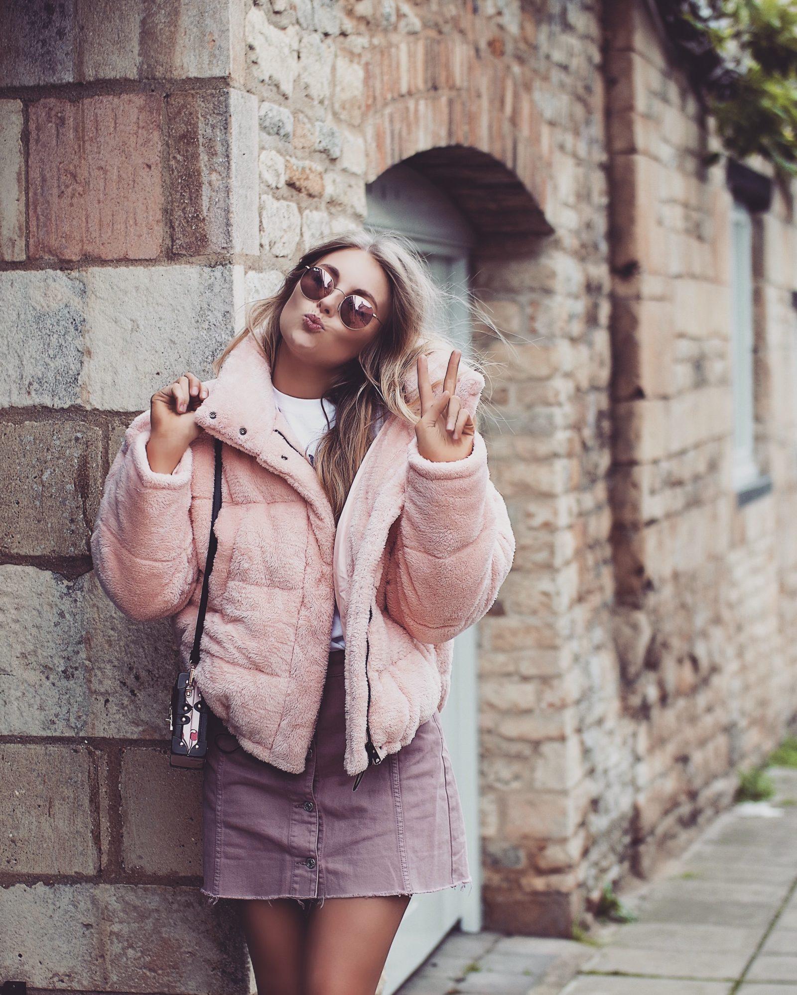 Teddy Puffa Jacket - Autumn Outfit