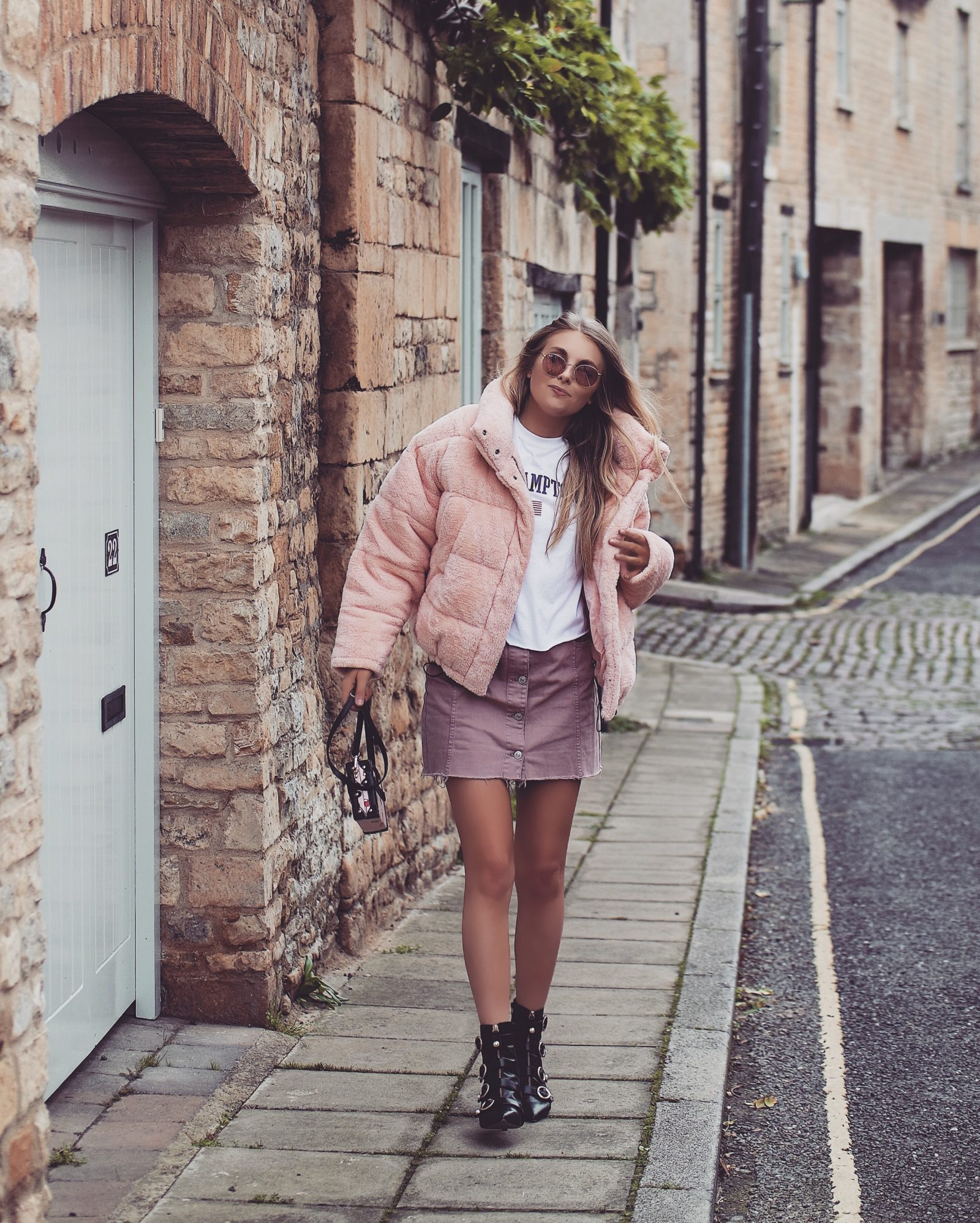 Teddy Puffa Jacket - Fall Outfit Inspiration