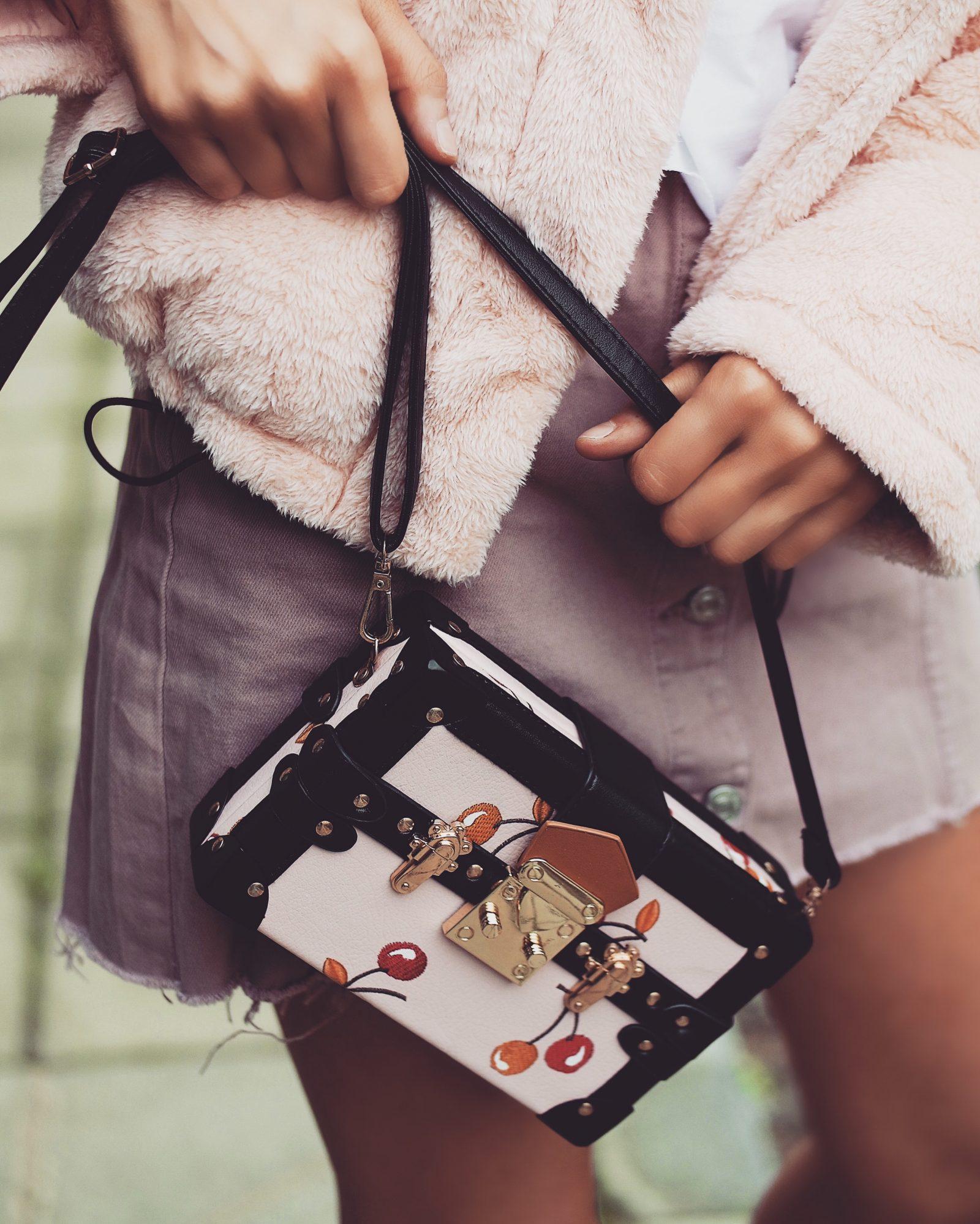 Teddy Puffa Jacket - Louis Vuitton Petite Malle Dupe