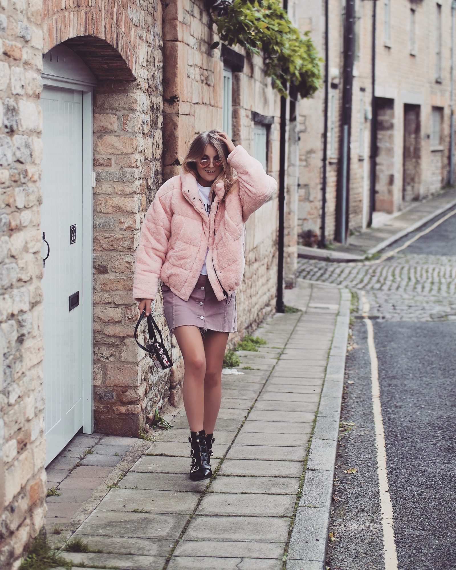 Teddy Puffa Jacket - Urban Outfitters