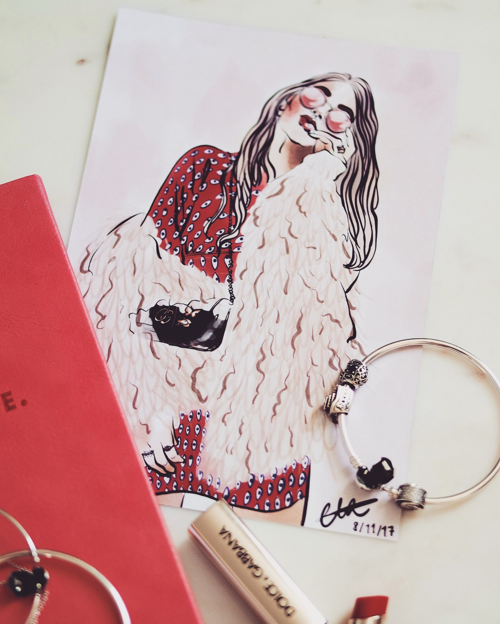 Black Friday, Fashion Illustration