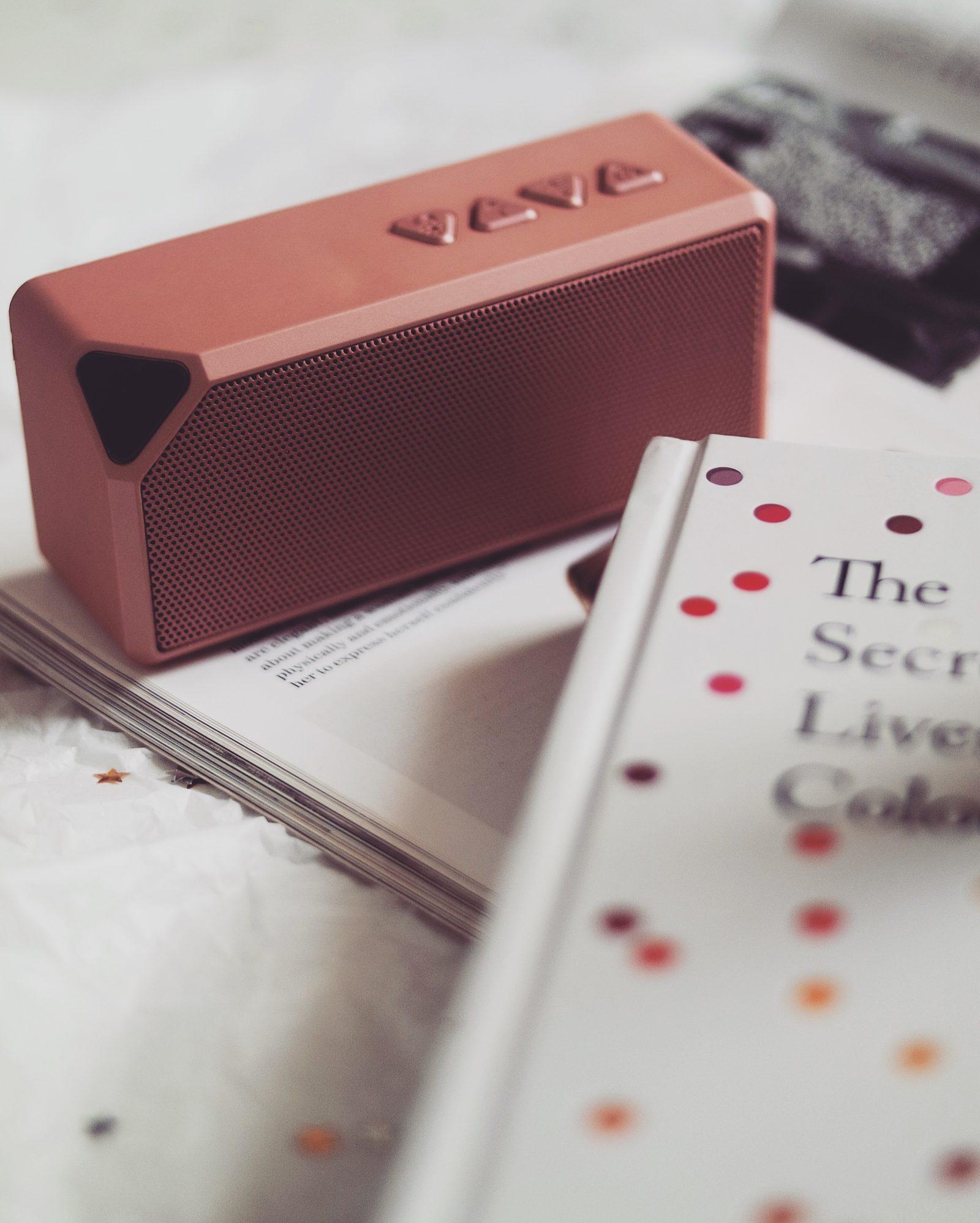 Stocking Fillers - Portable Speaker