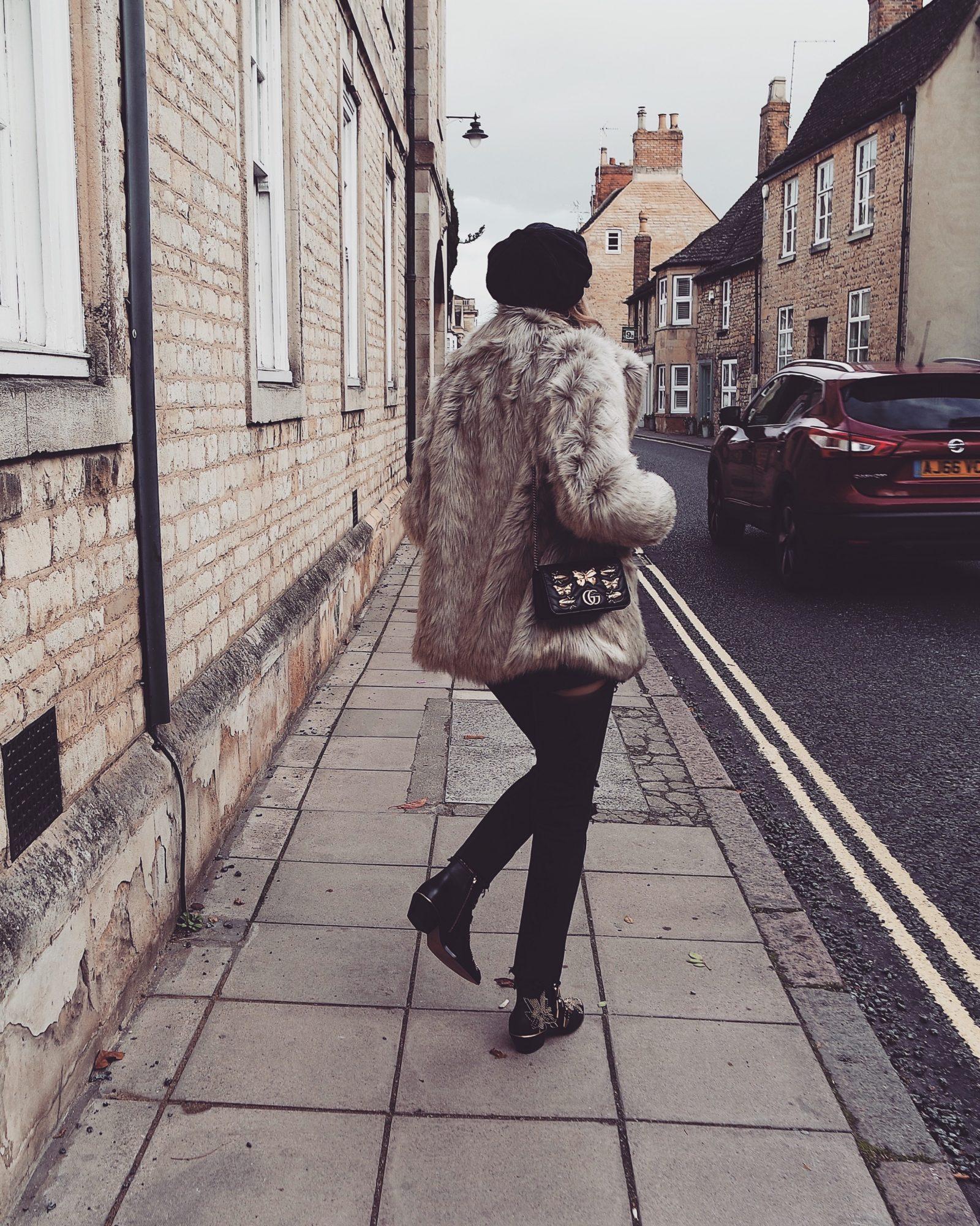 Winter Coat, New Look Fur Coat