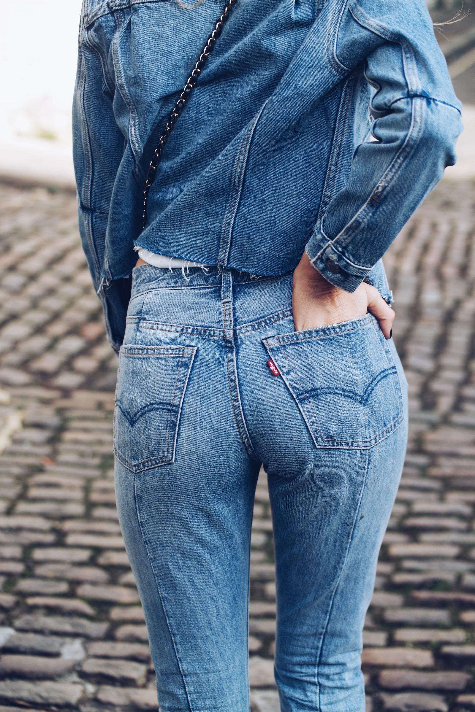 Levis Denim - Altered Jeans