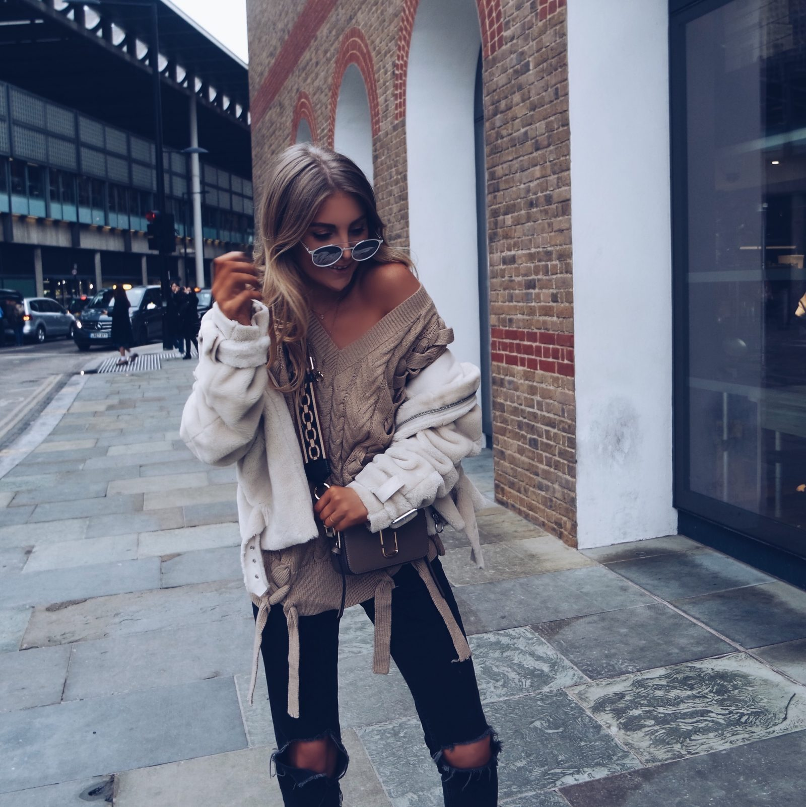 Missguided Jumper - Winter Outfit Inspiration