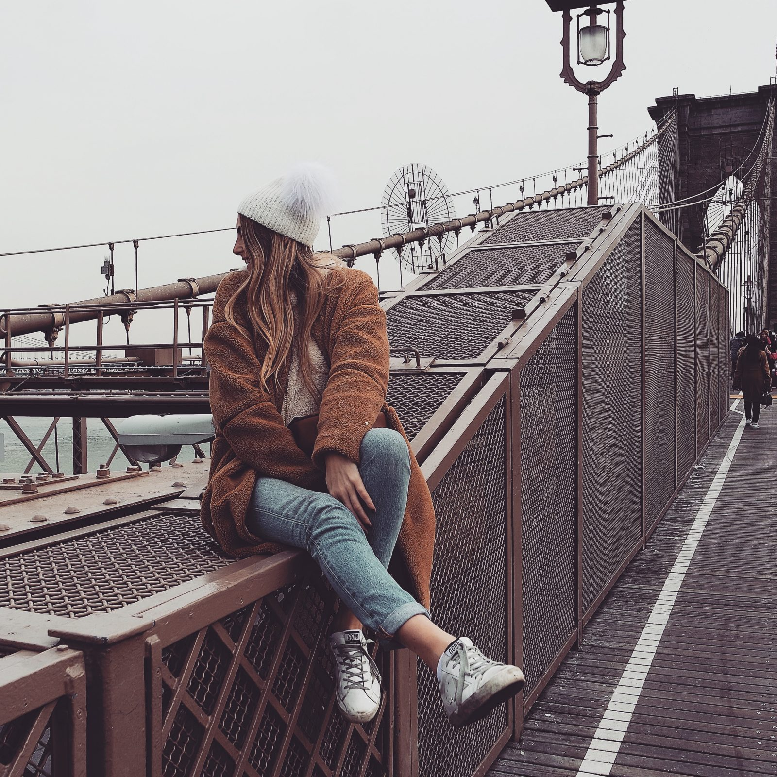 New York in 4 Days - Revolve Teddy Coat