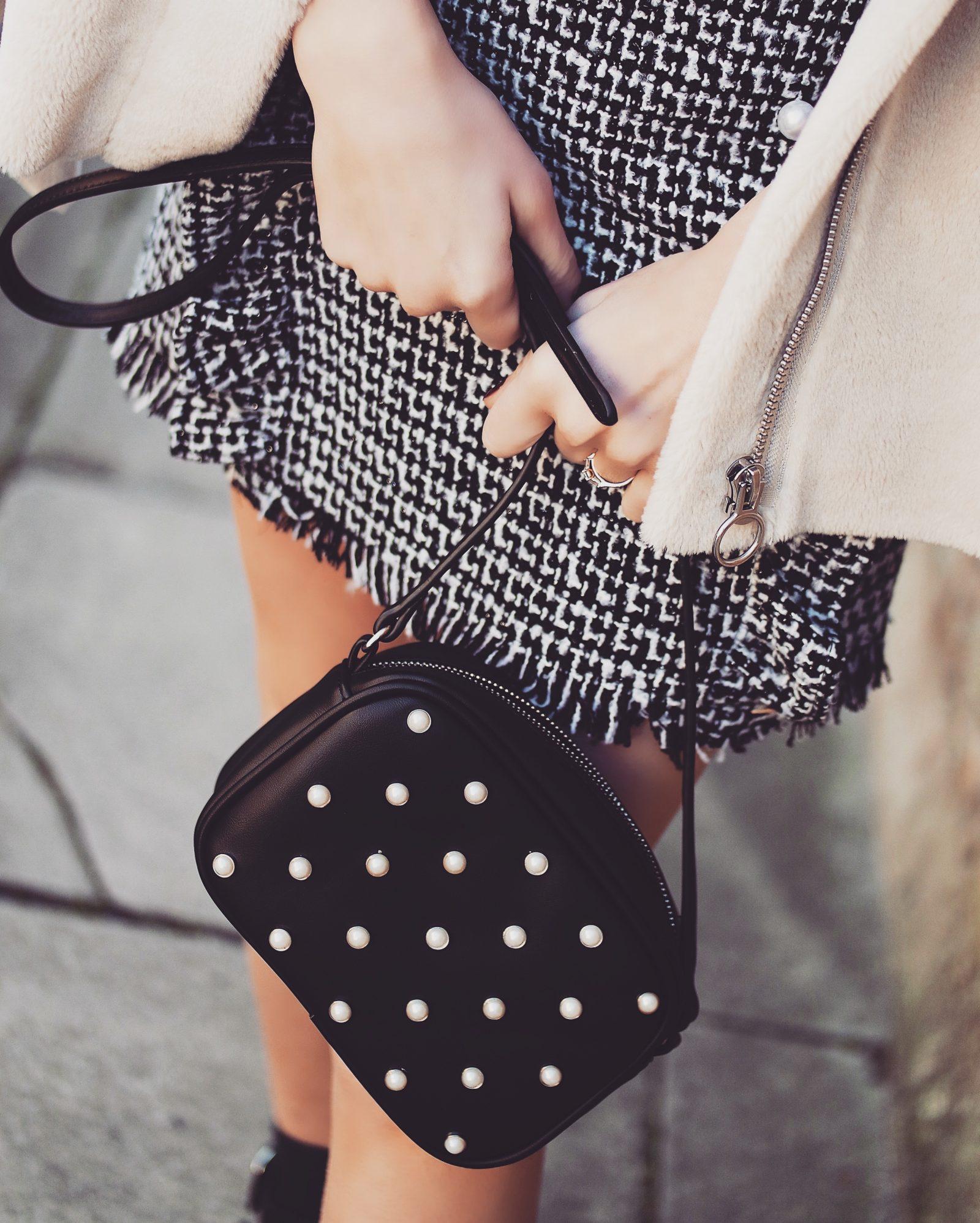 Pearl Embellished Bag