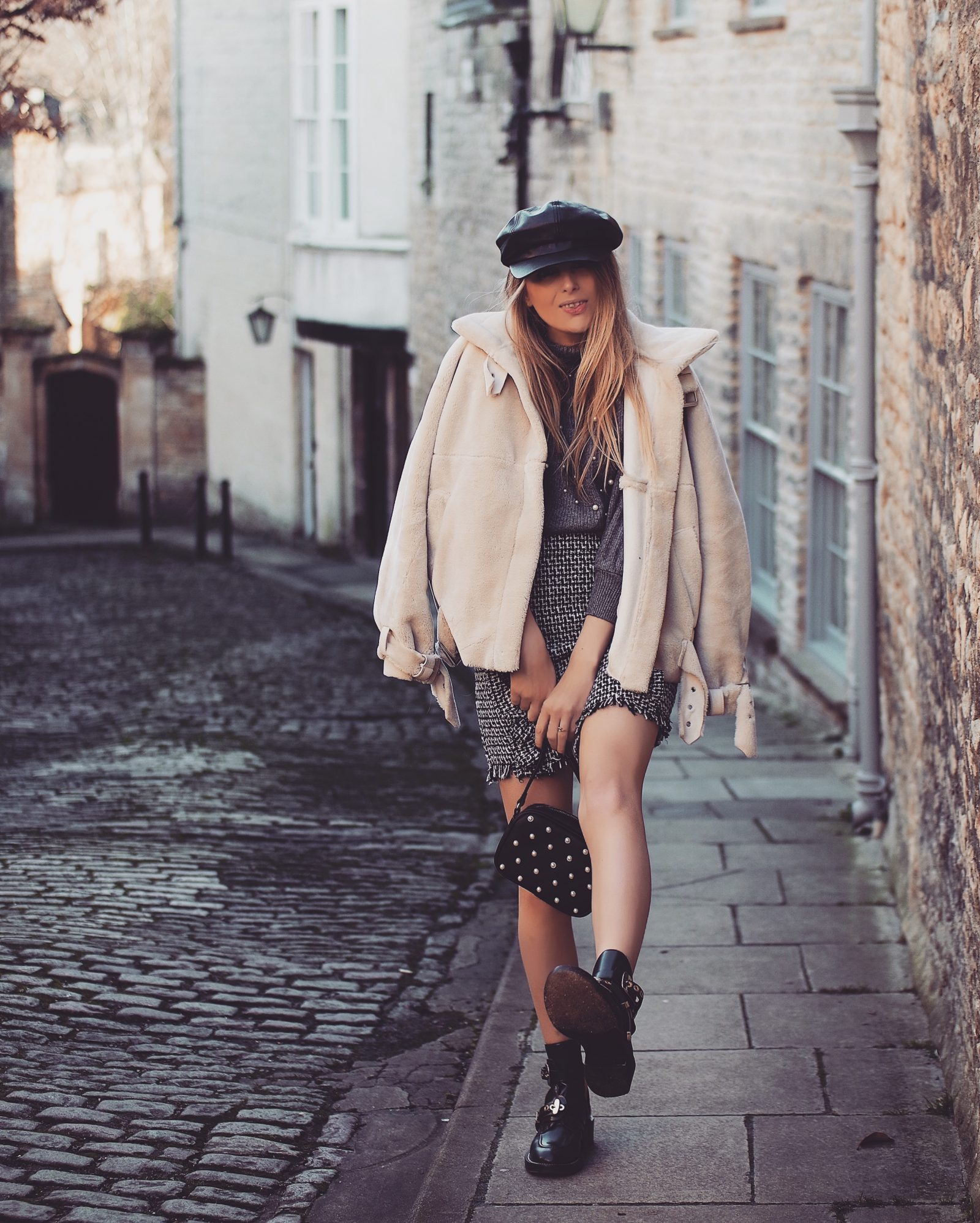 Pearl Embellished Street Style