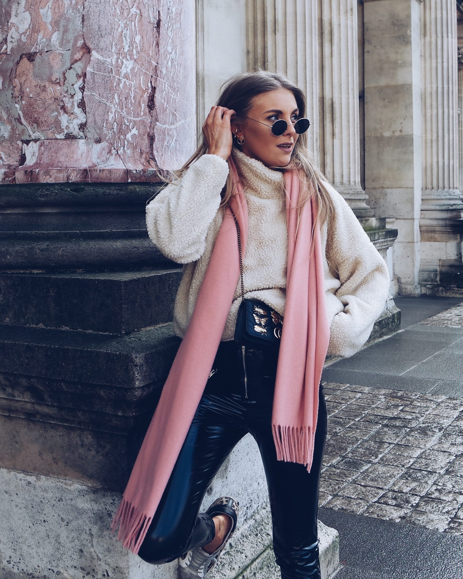 Vinyl Trousers -Street Style Outfit Ideas