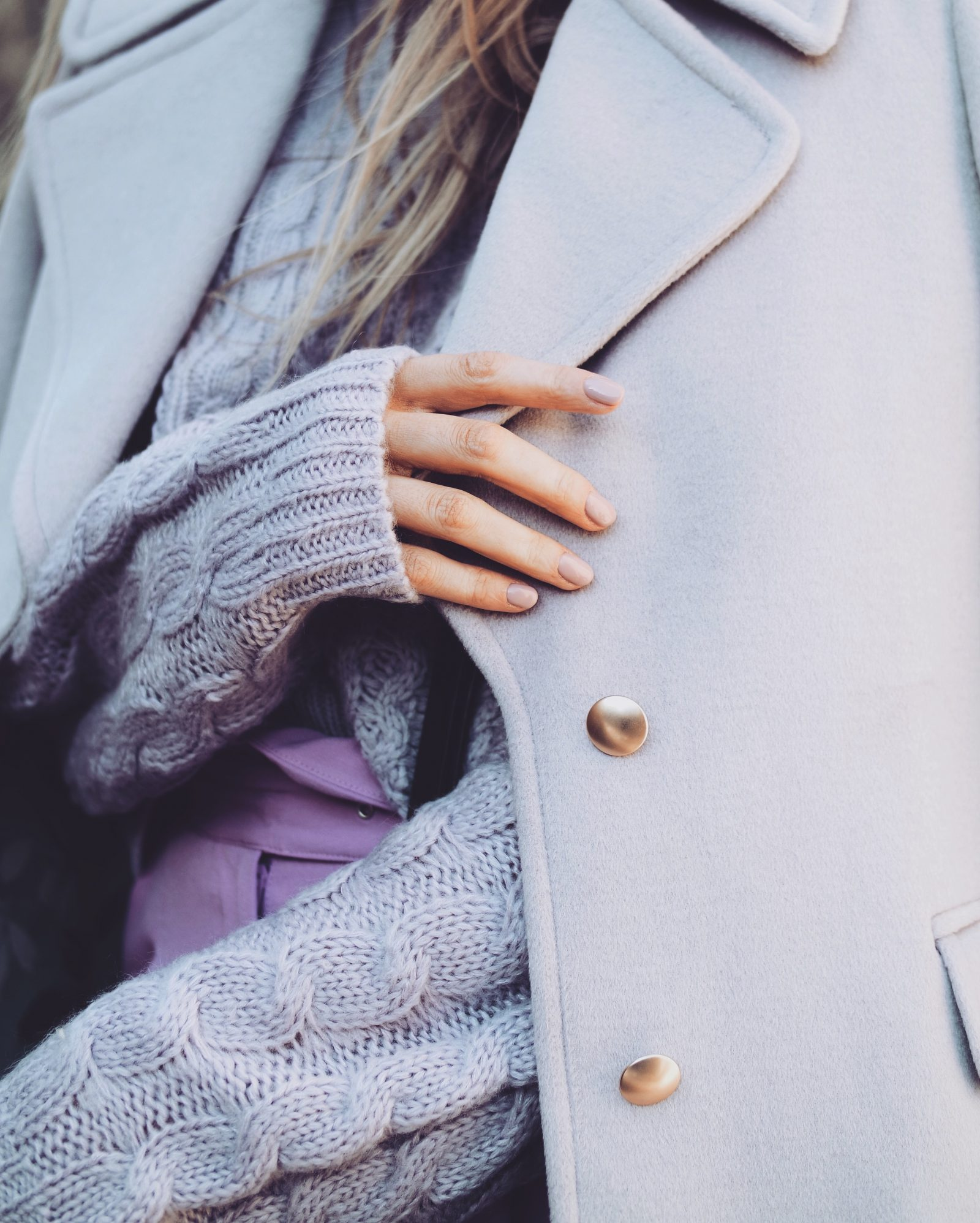 2018 Colour - Lilac Laura Ashley Coat