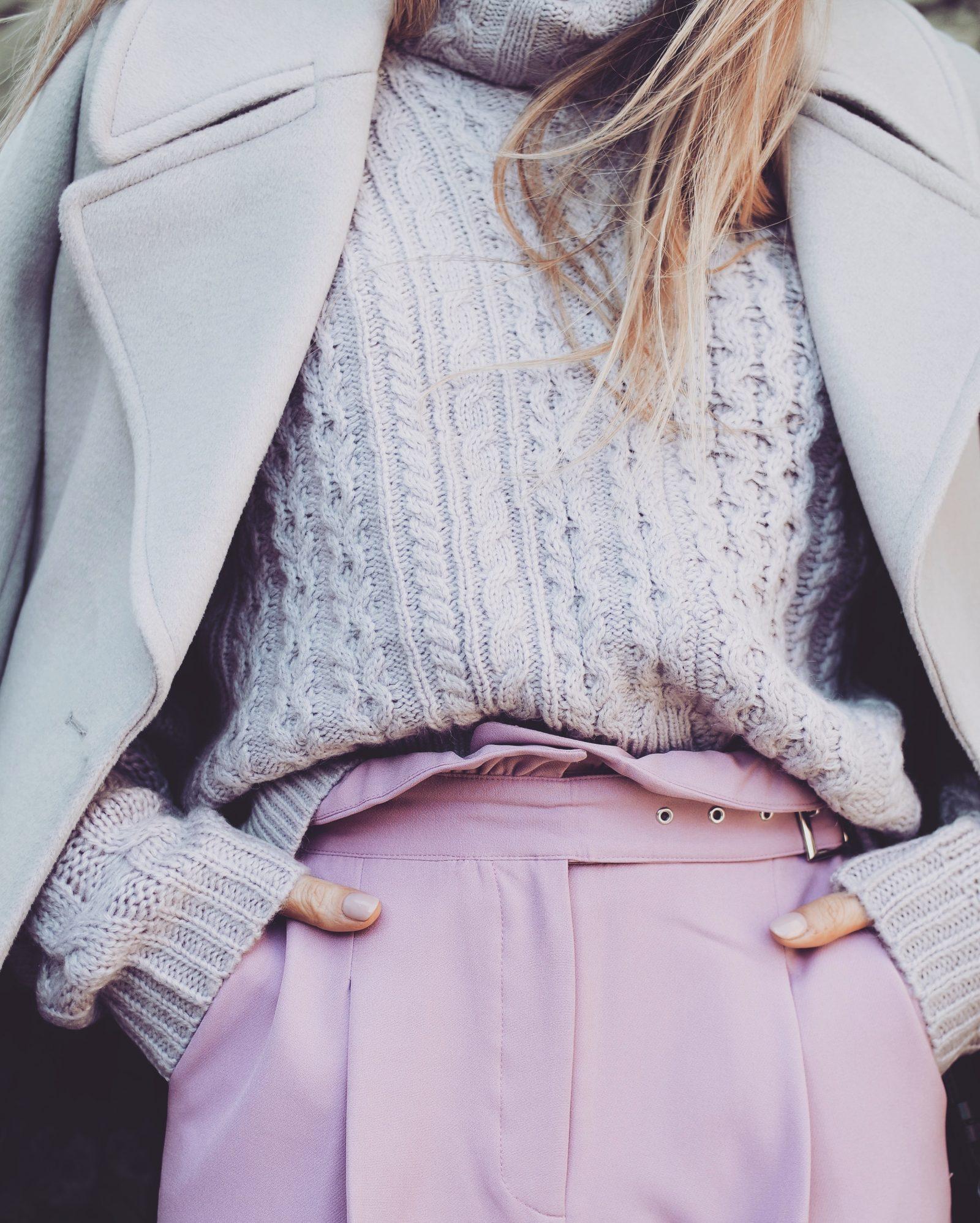 2018 Colour - Purple Trousers