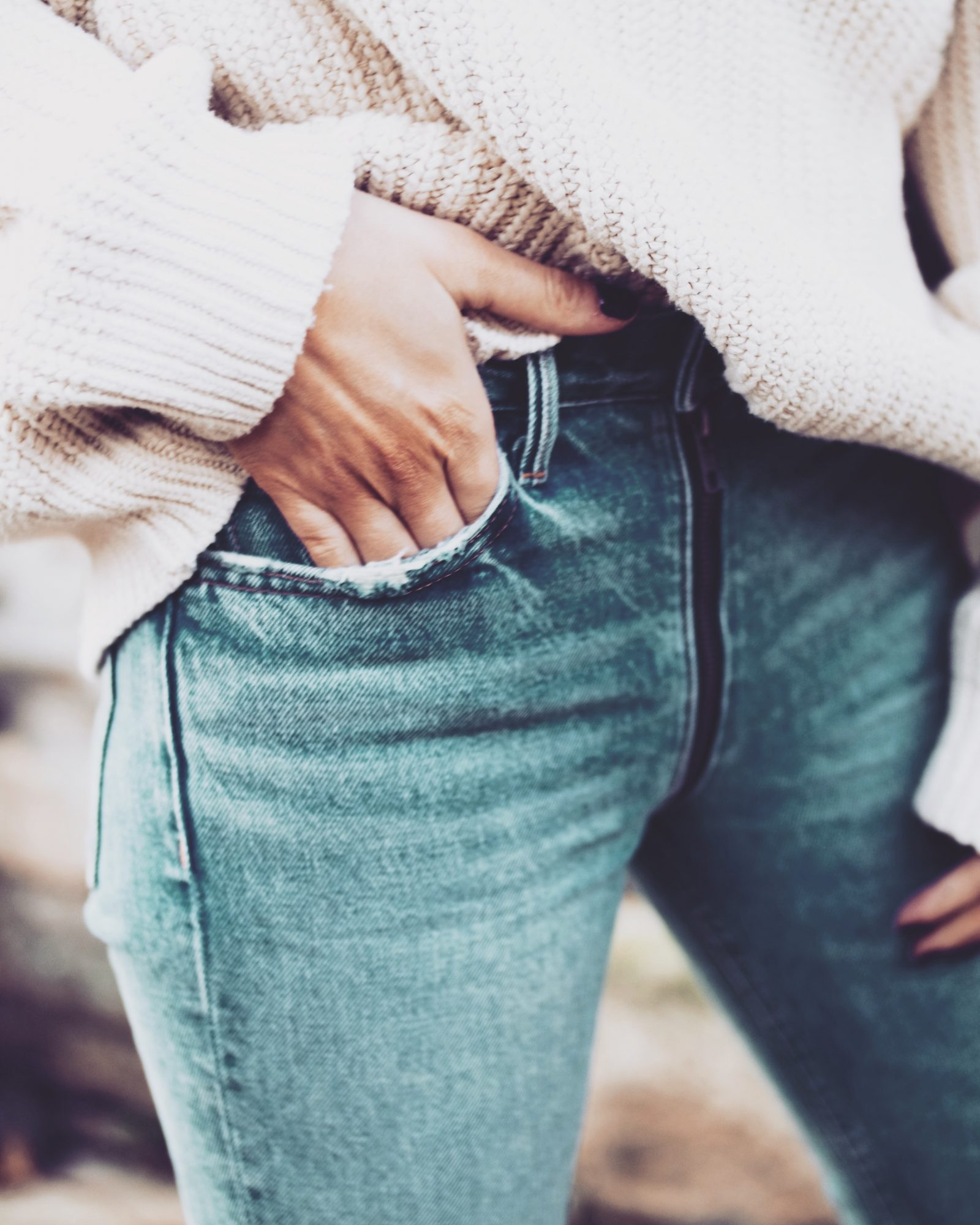 Black Balenciaga Triple S - Revolve GRLFRND Jeans