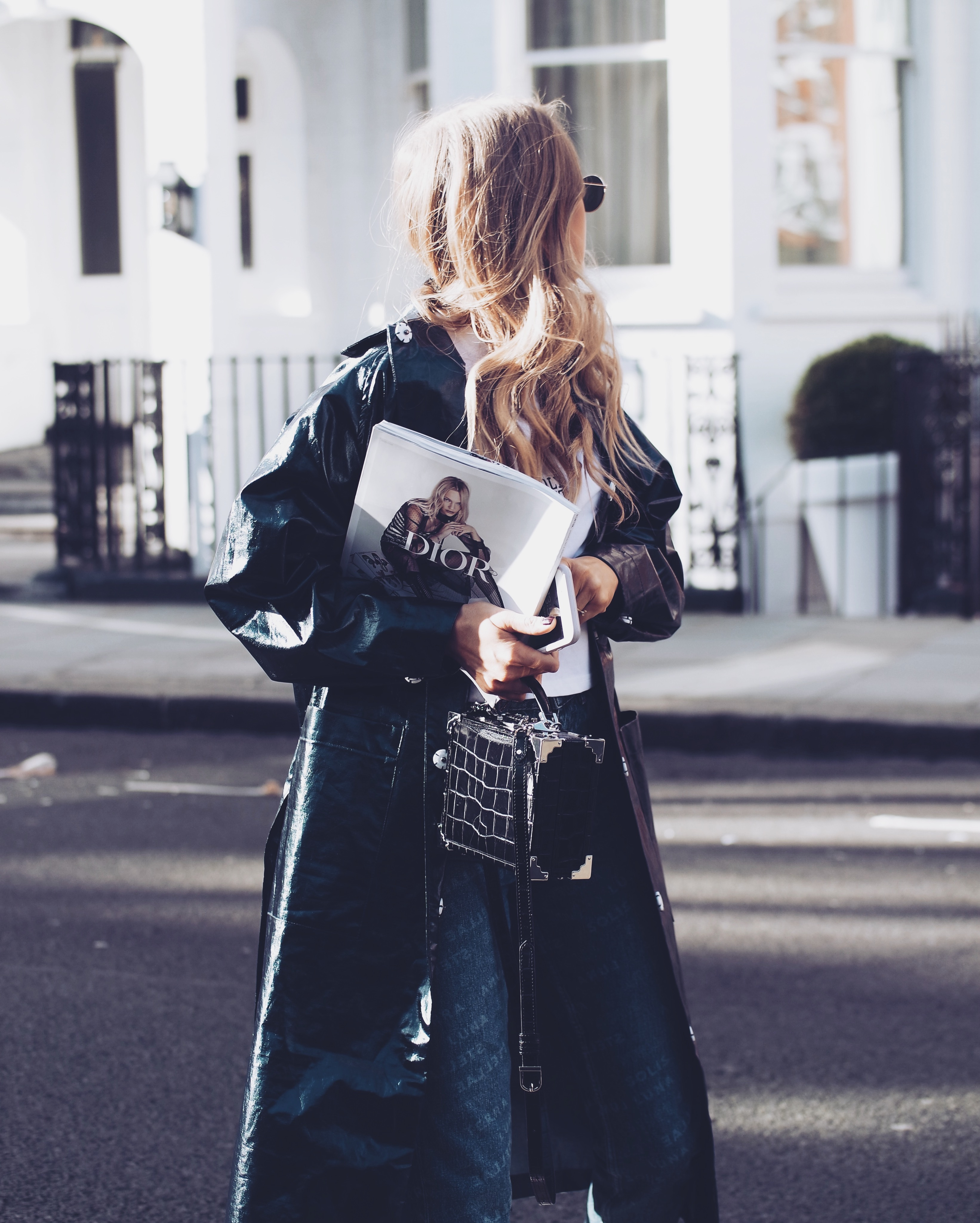 LFW Street Style - Aspinal
