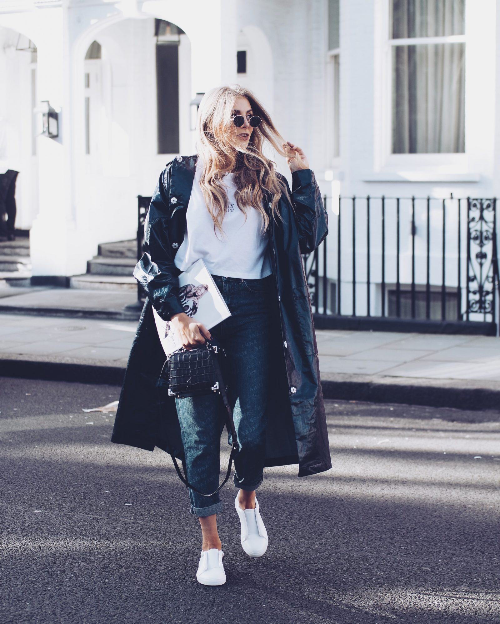 LFW Street Style - Blogger Style