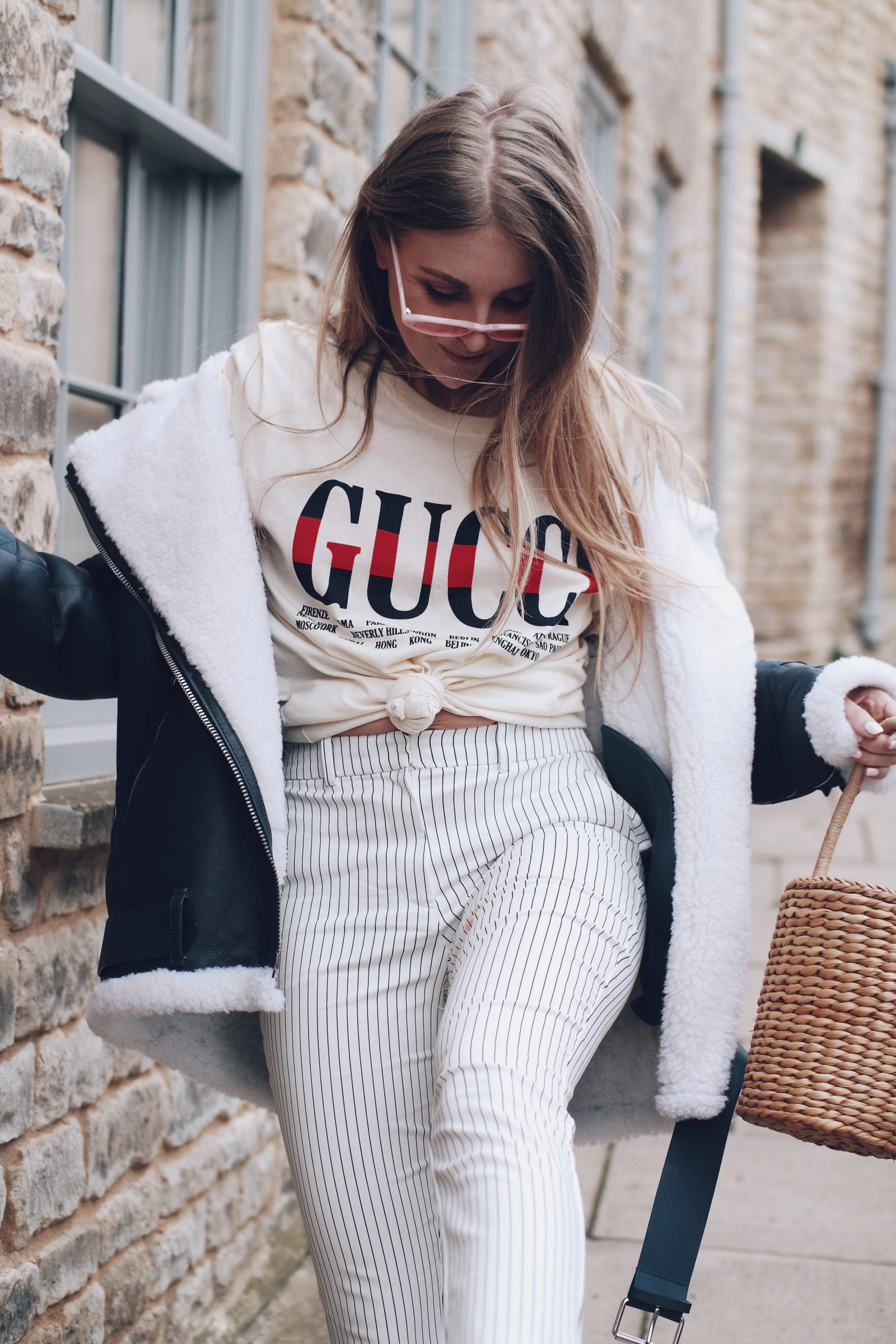 Slogan Gucci T Shirt