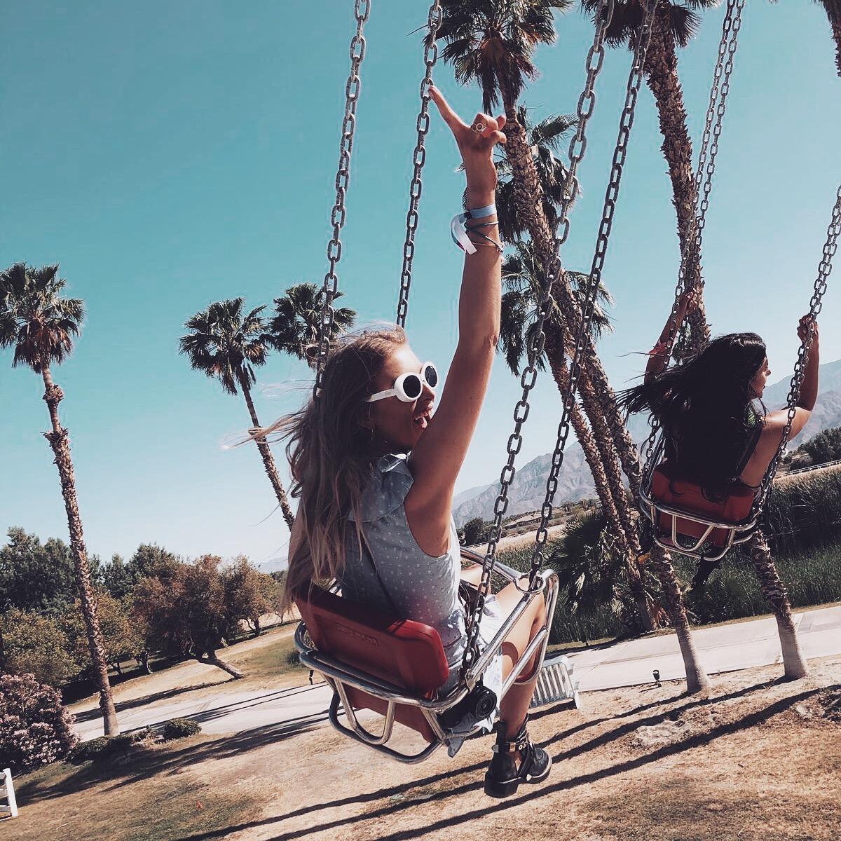 Revolve Festival - Funfair Swings