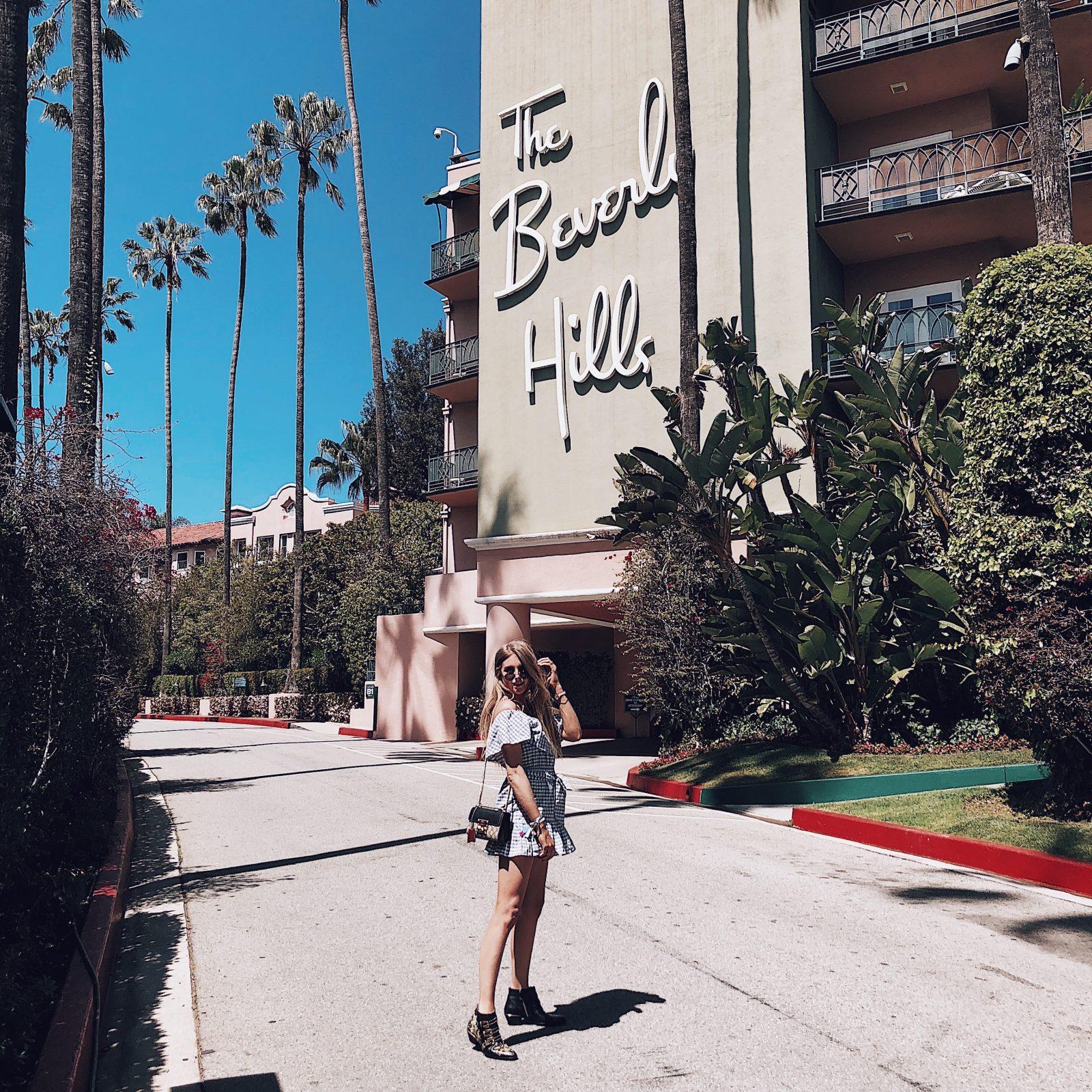 Tularosa Dress - The Beverly Hills Hotel
