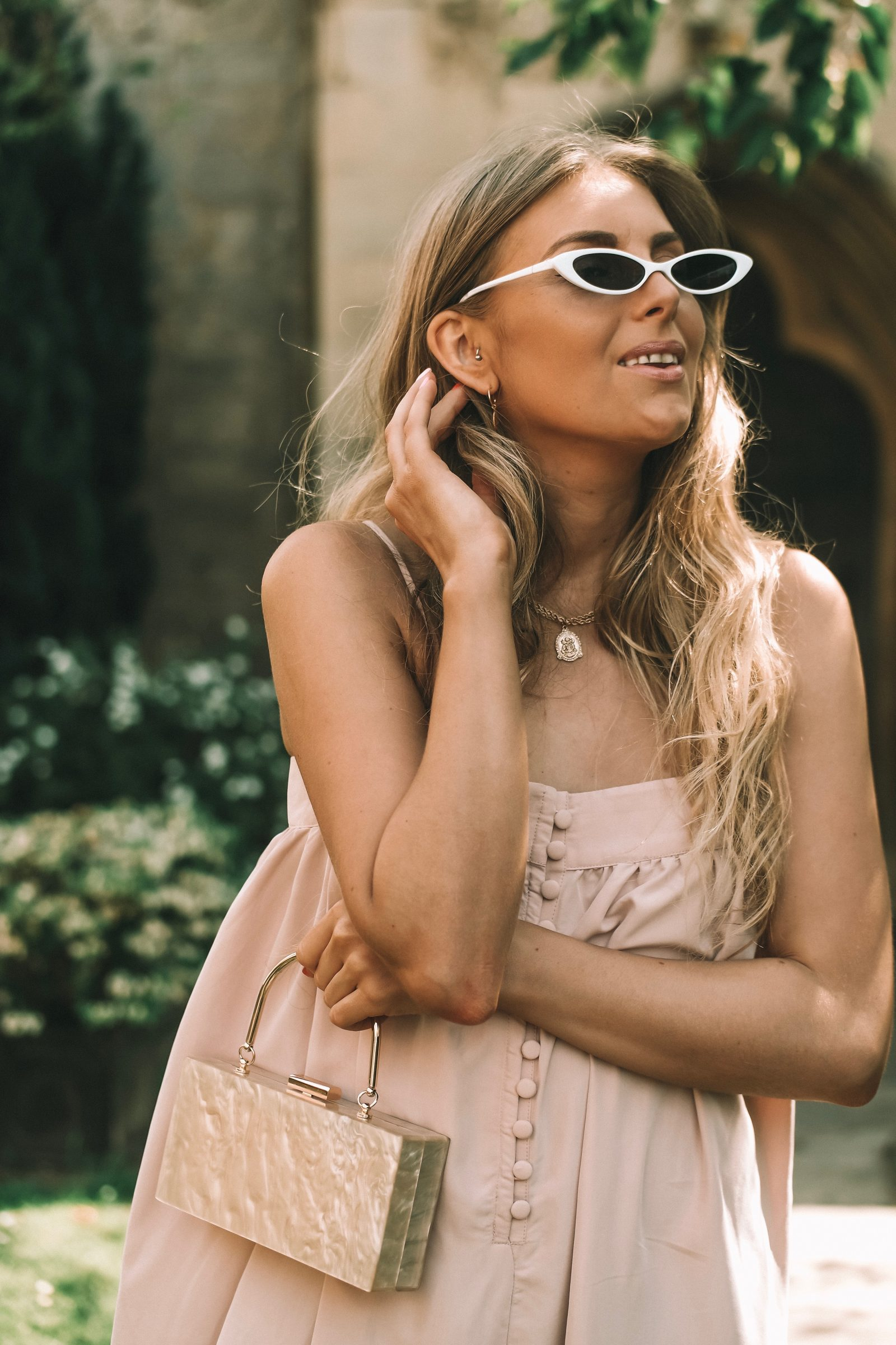 Asos Wedding Outfit - Micro Sunglasses