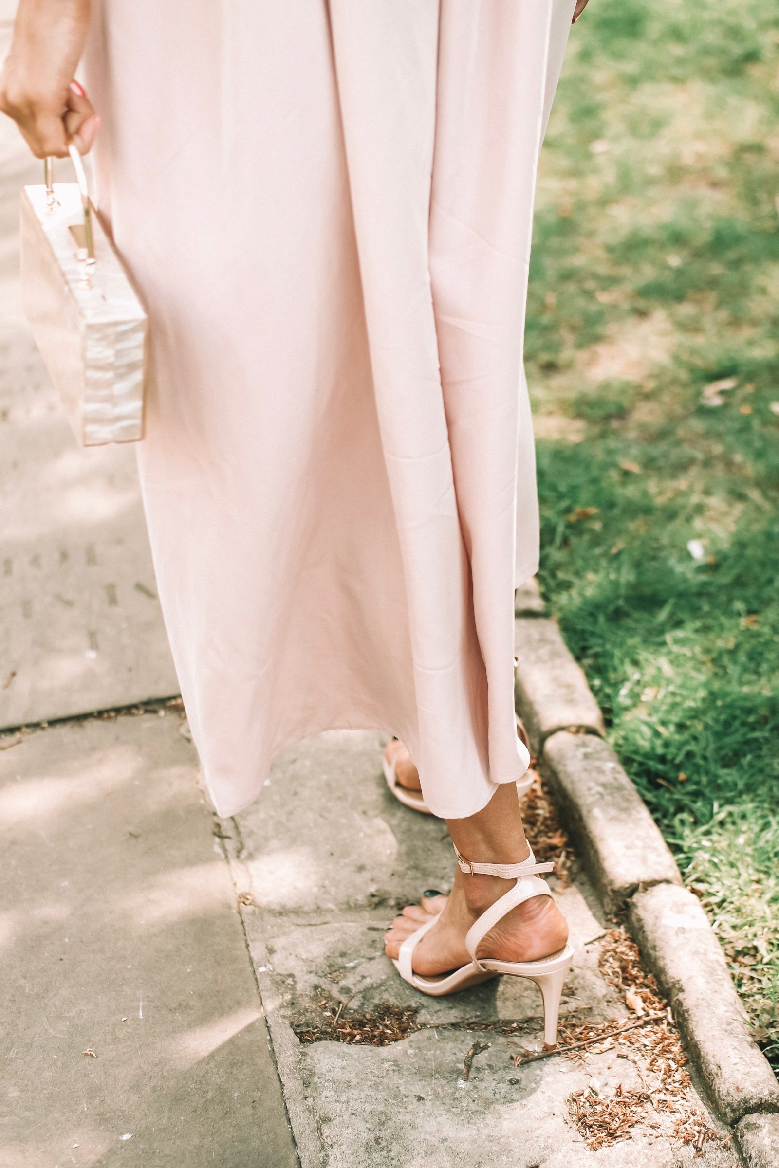 Asos Wedding Outfit - Nude Strappy Sandals