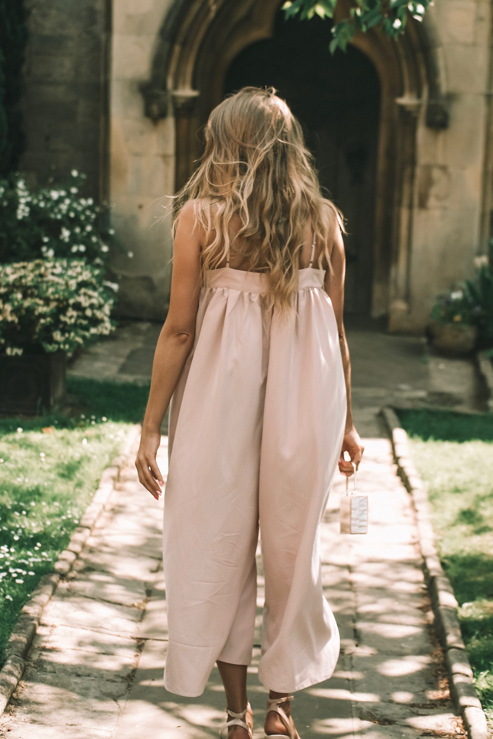 Asos Wedding Outfit - Pink Oversized Jumpsuit
