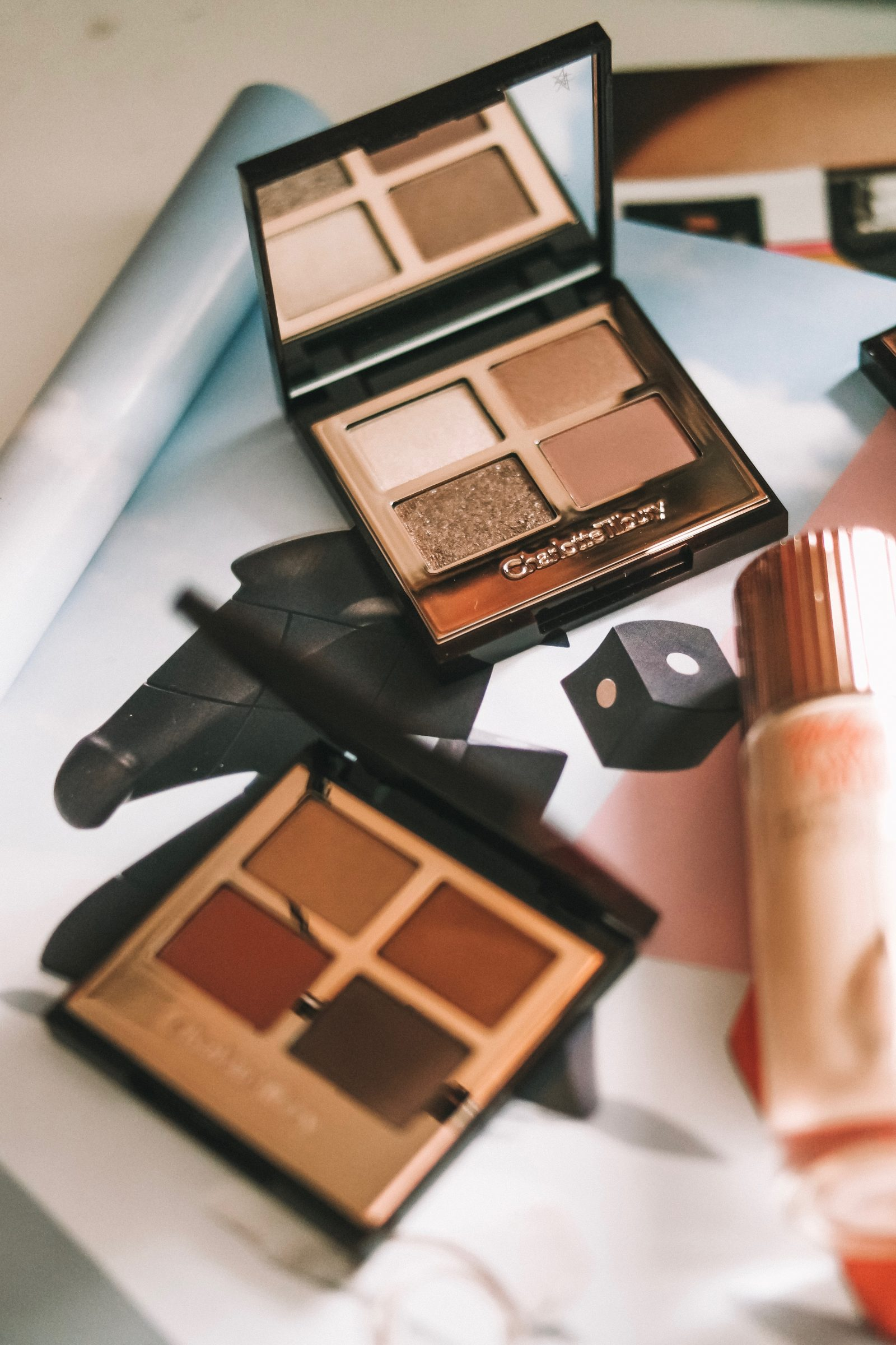 Charlotte Tilbury Filter Collection Flatlay - Bigger Brighter Eye Palette