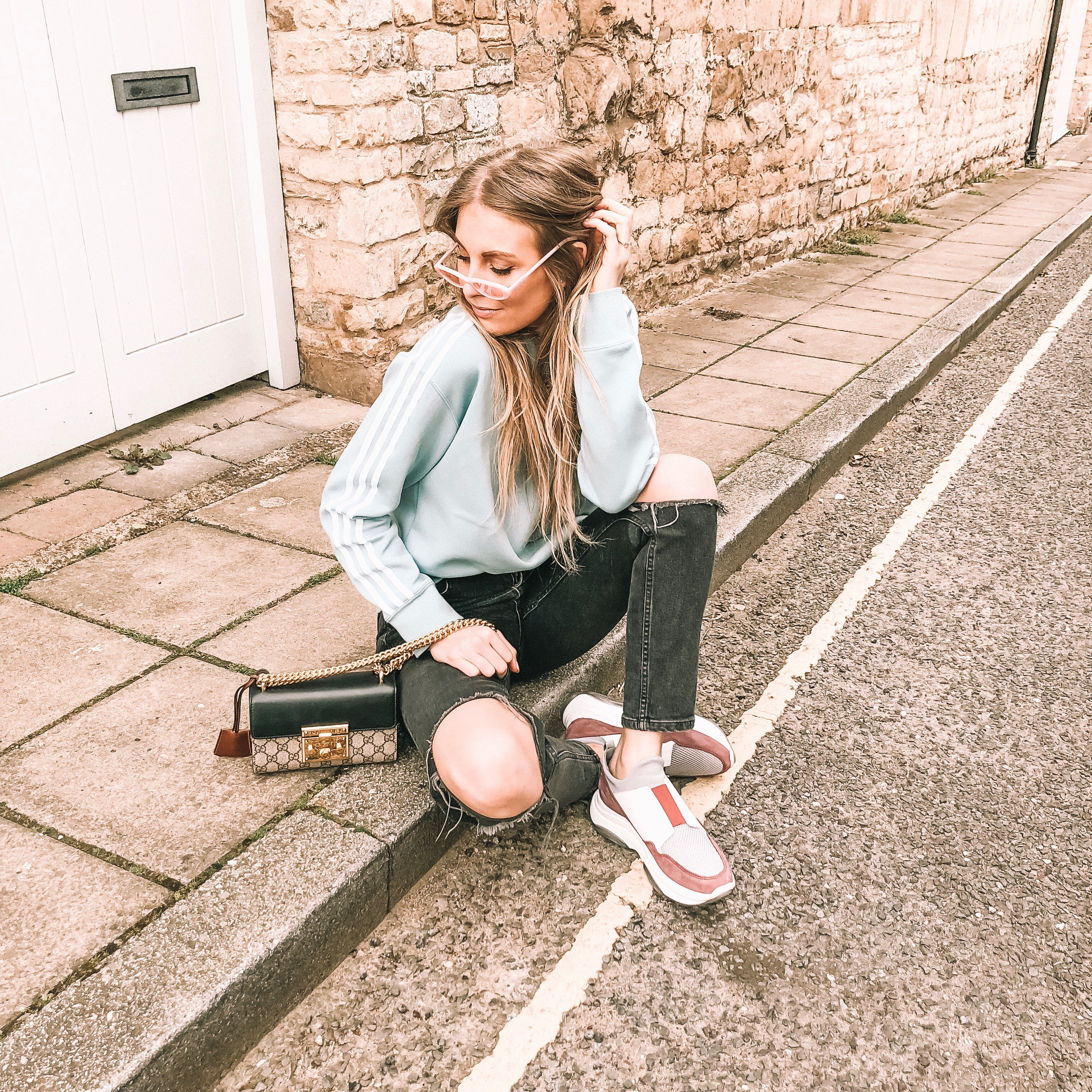 Casual Outfit wearing Forena Ugly Trainers