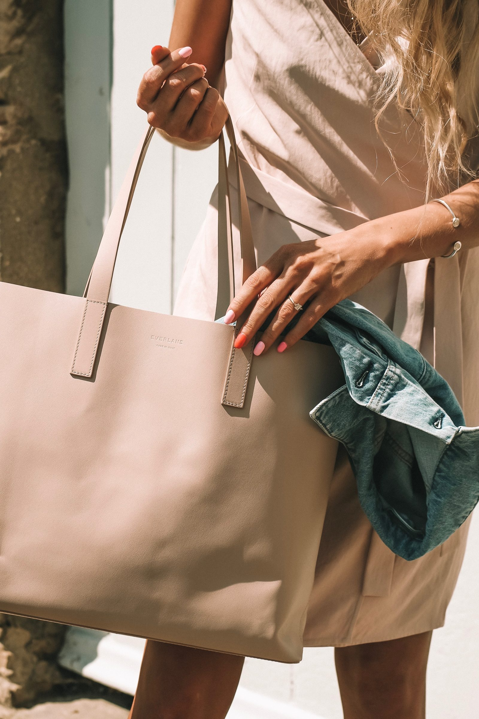 Leather Everlane Day Market Tote - Summer Style