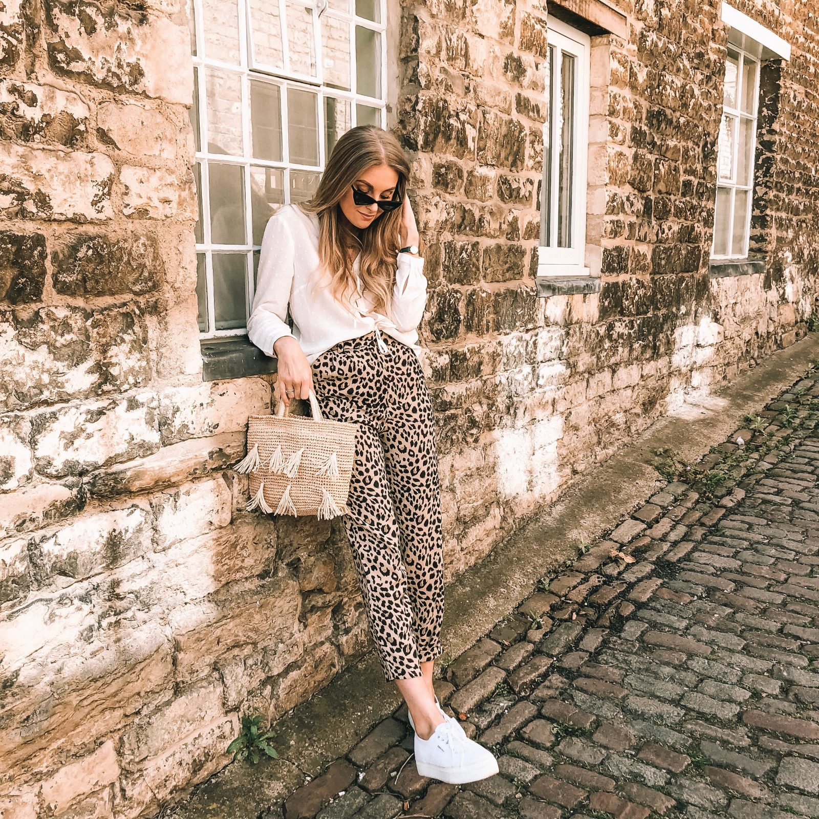 Leopard Print Trousers - & Other Stories Tapered Trousers