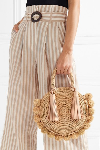 Loeffler Randall Straw Summer Bag