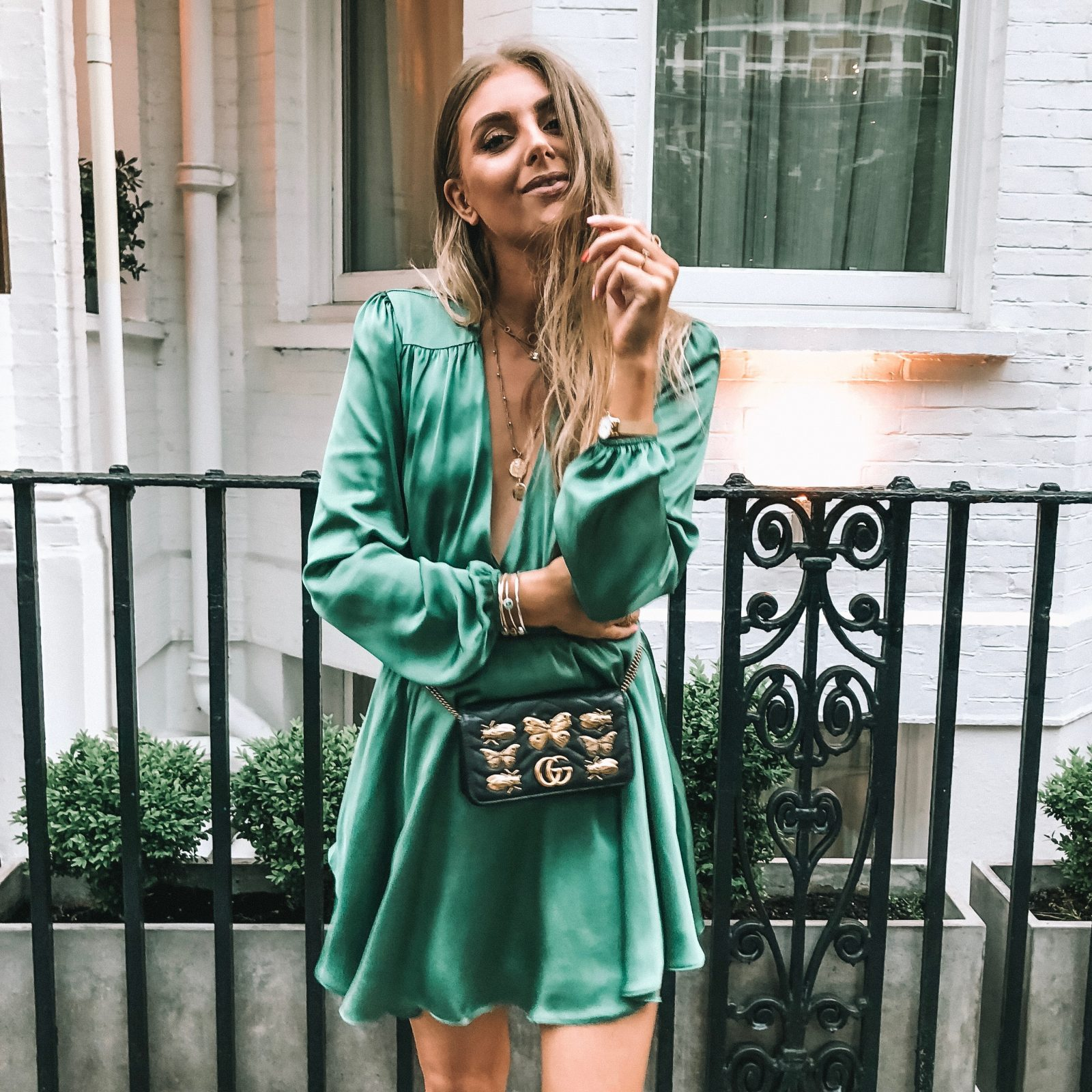 Revolve Takes London Gucci BumBag