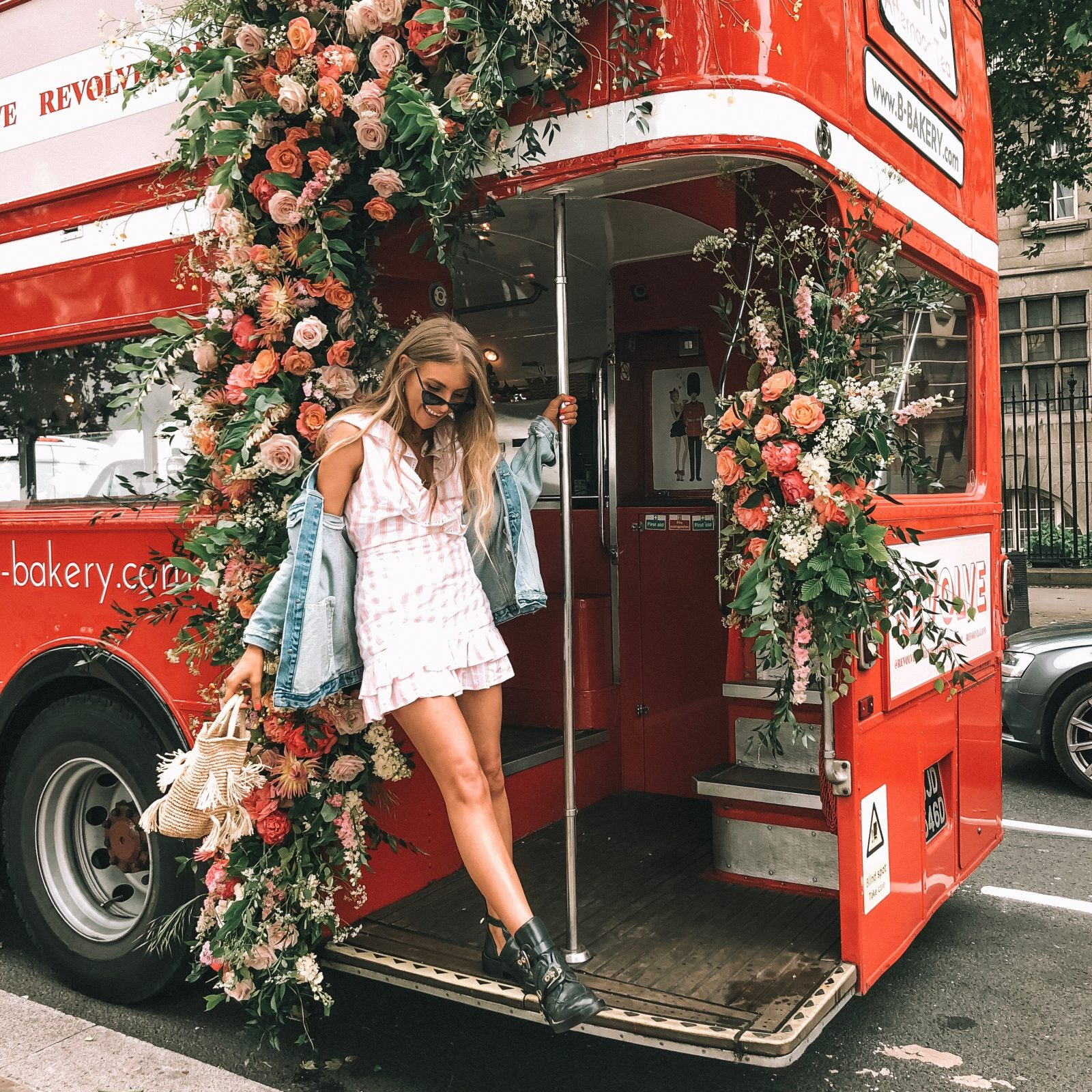 Revolve Takes London Tularosa Bus Tour