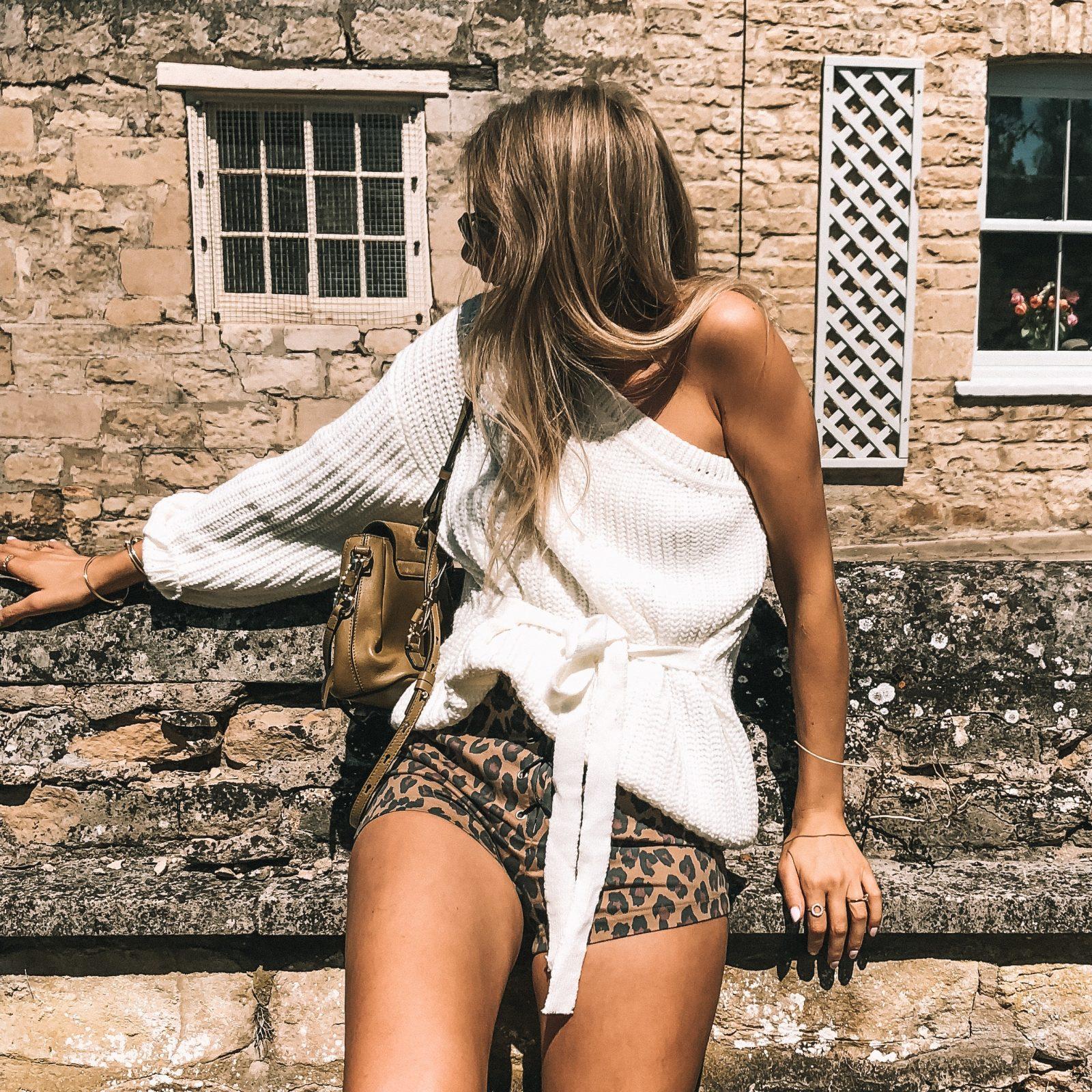 Chloe Faye Review - Verge Girl Leopard Print Shorts