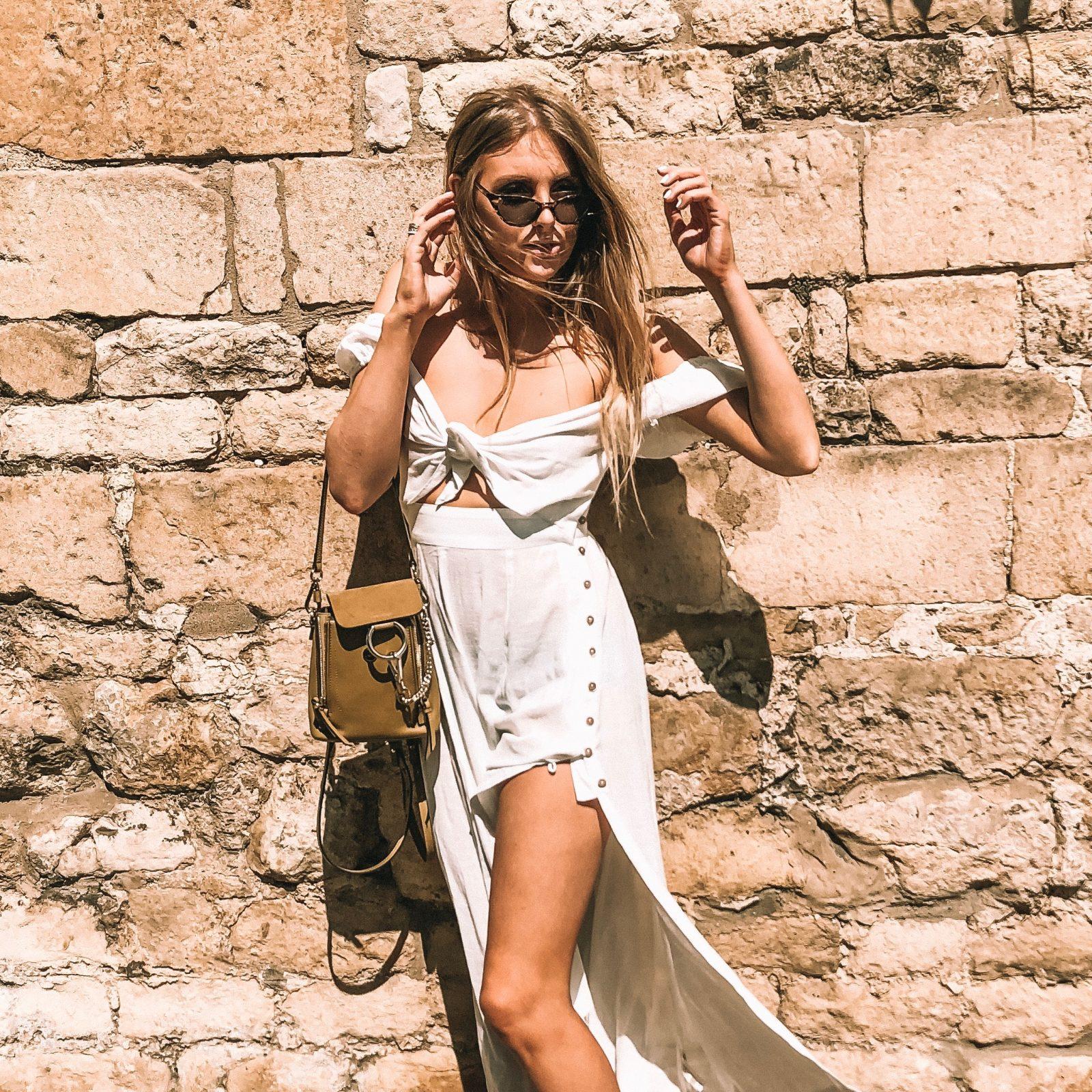 Free People Summer Dress - Tie Front Dress - Fashion Blogger Sinead Crowe