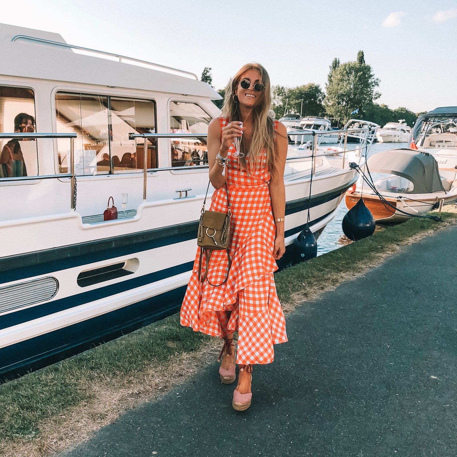Henley Festival - DVF Maxi Dress