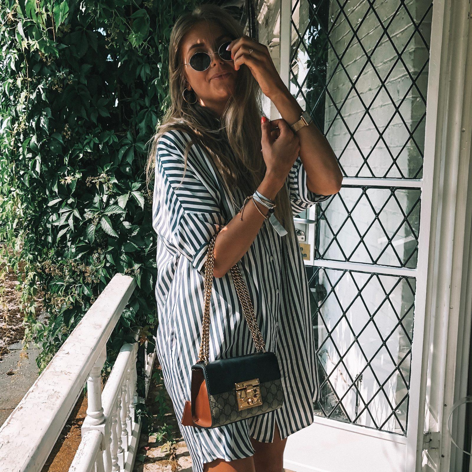 Henley Festival - Gucci Print Handbag