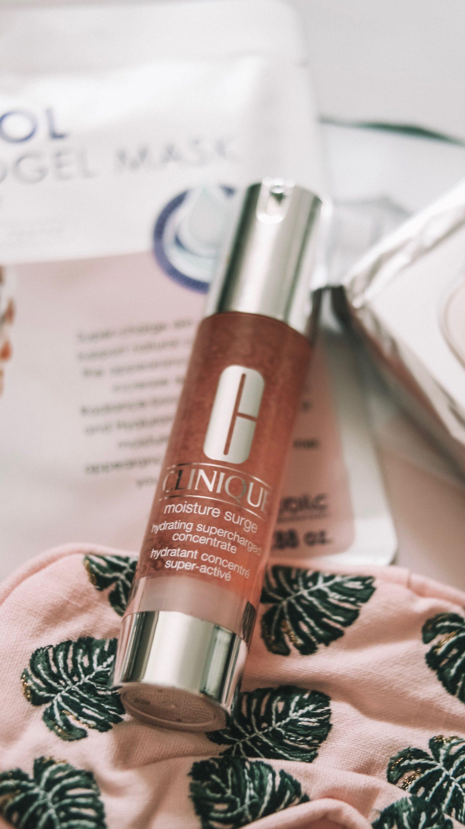 Inflight Beauty - Clinique Moisture Surge