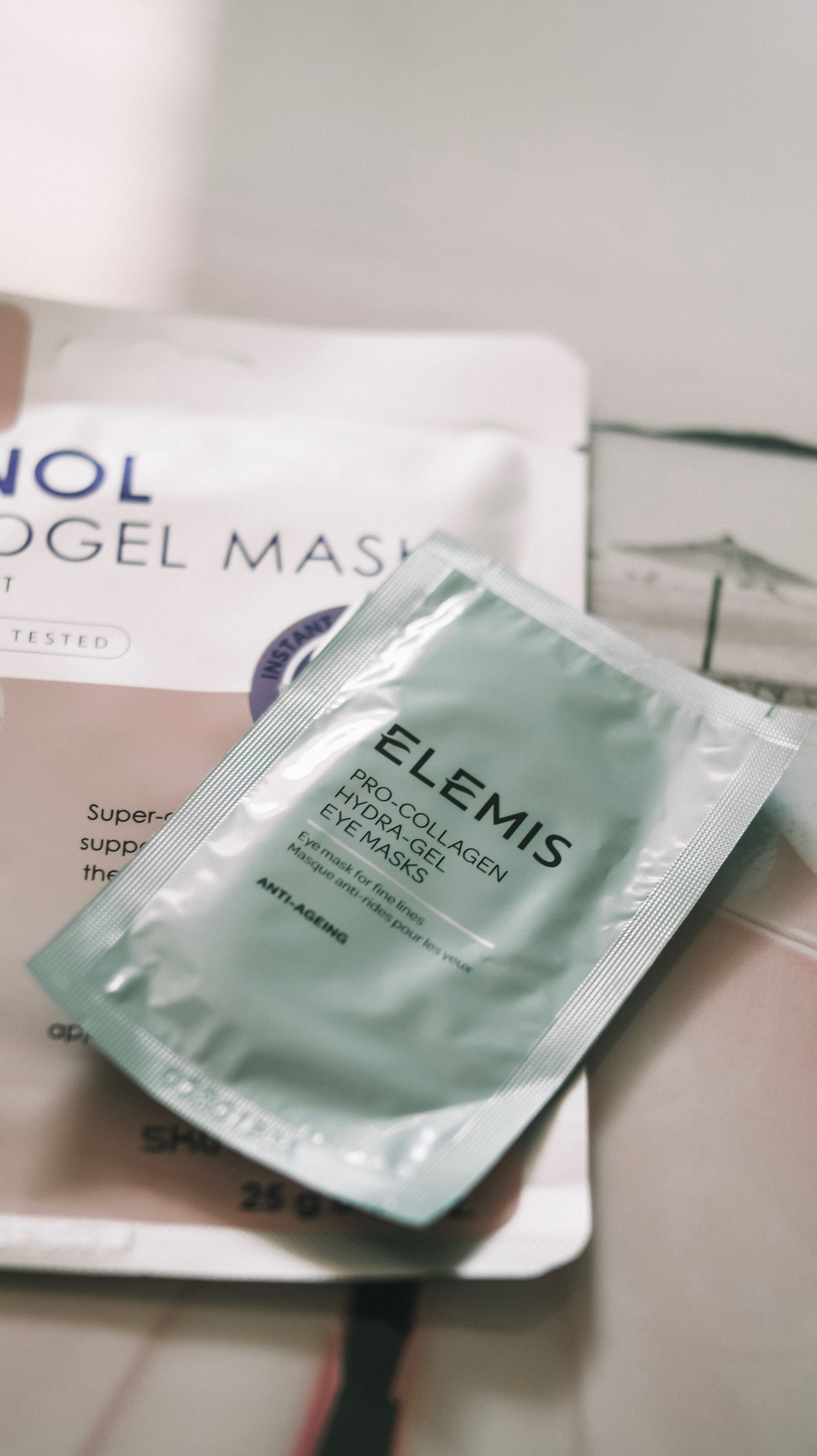 Inflight Beauty - Elemis Hydra-Gel Eye Mask