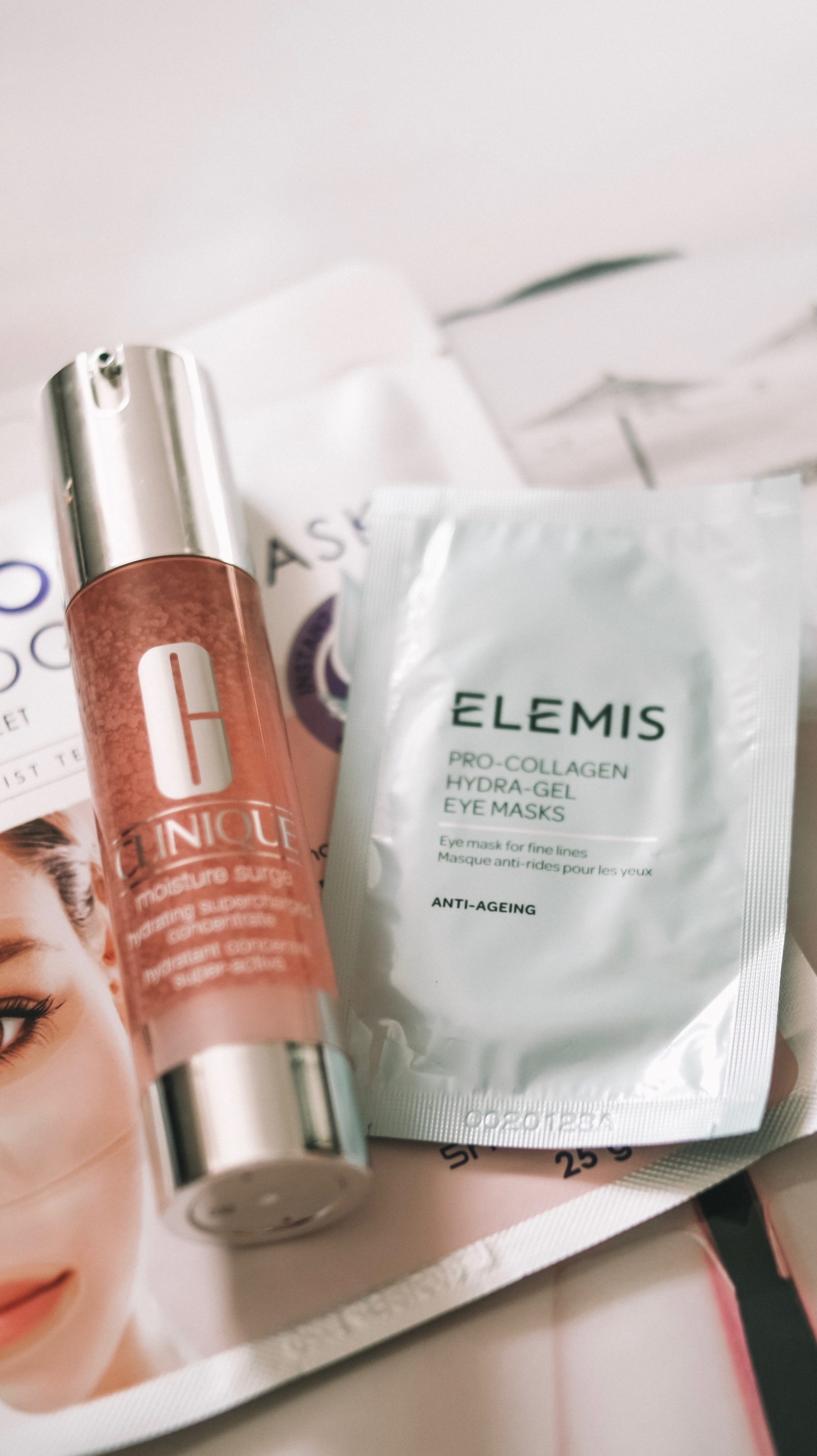 Inflight Beauty Routine