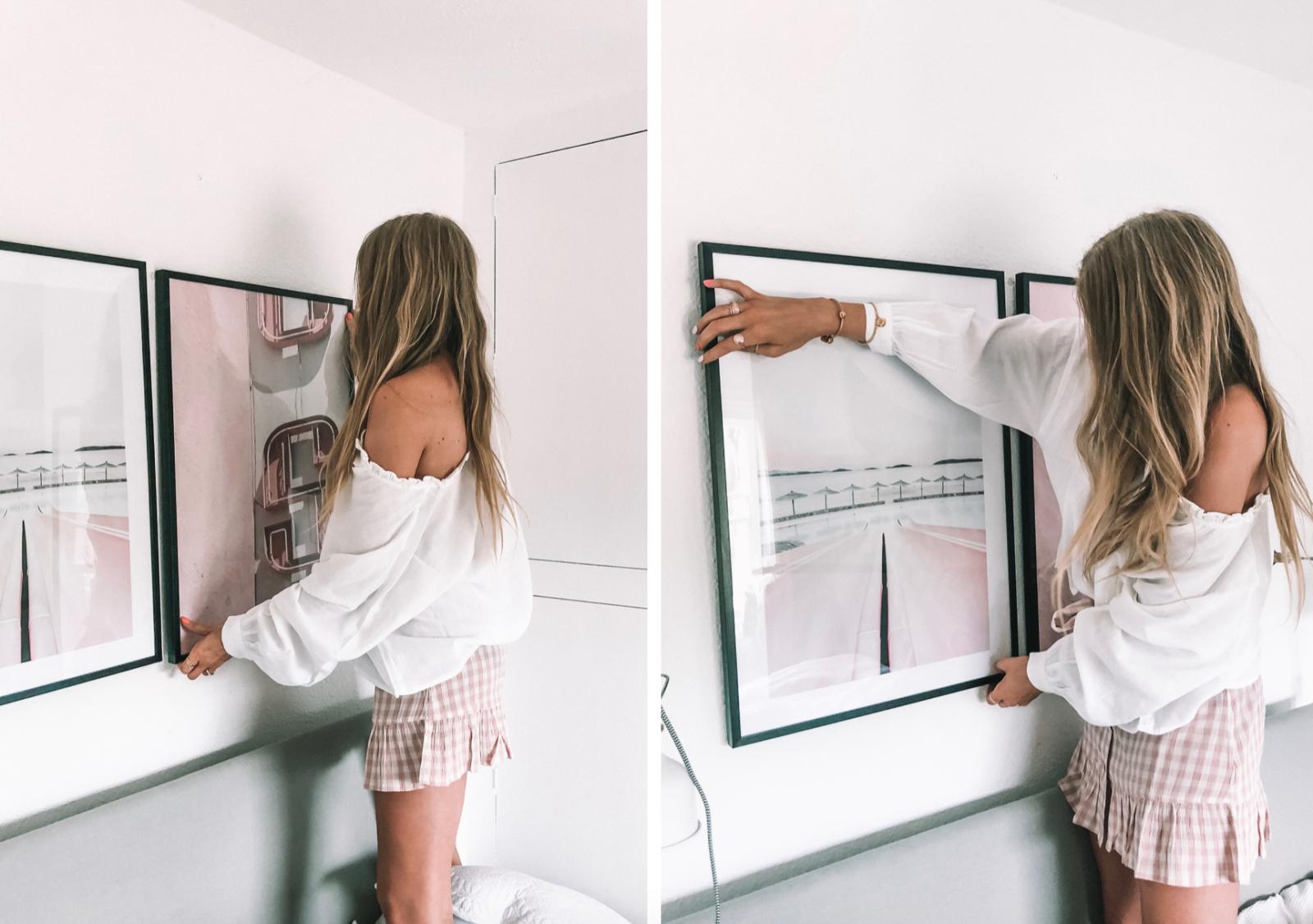 Pink Motel Sign Print Summer Interiors