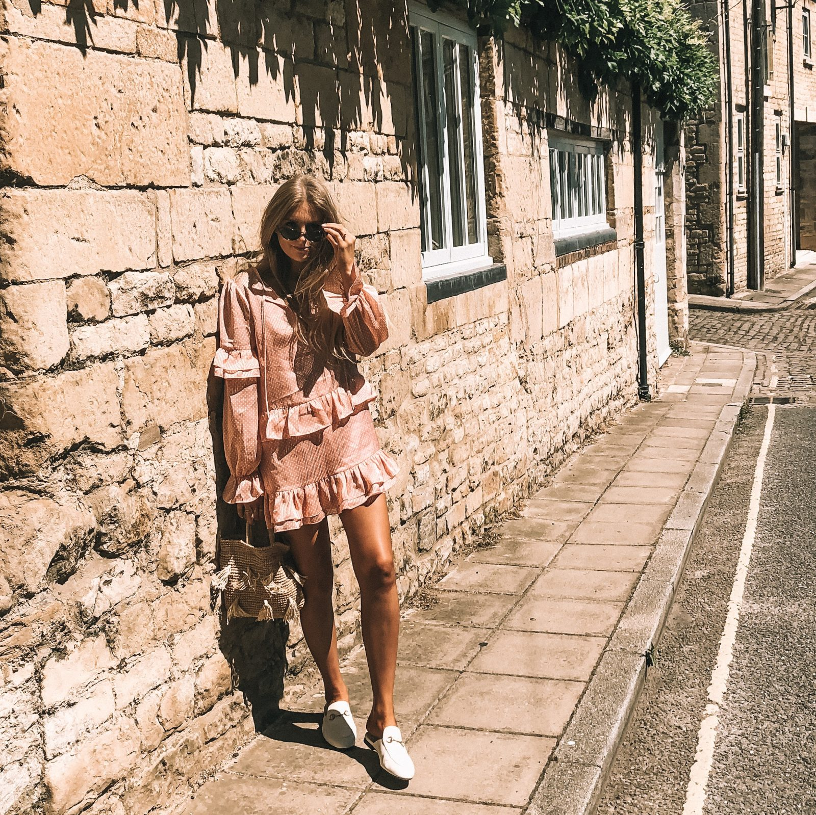 Revolve Sale - Pink Tularosa Dress - Fashion Blogger Sinead Crowe