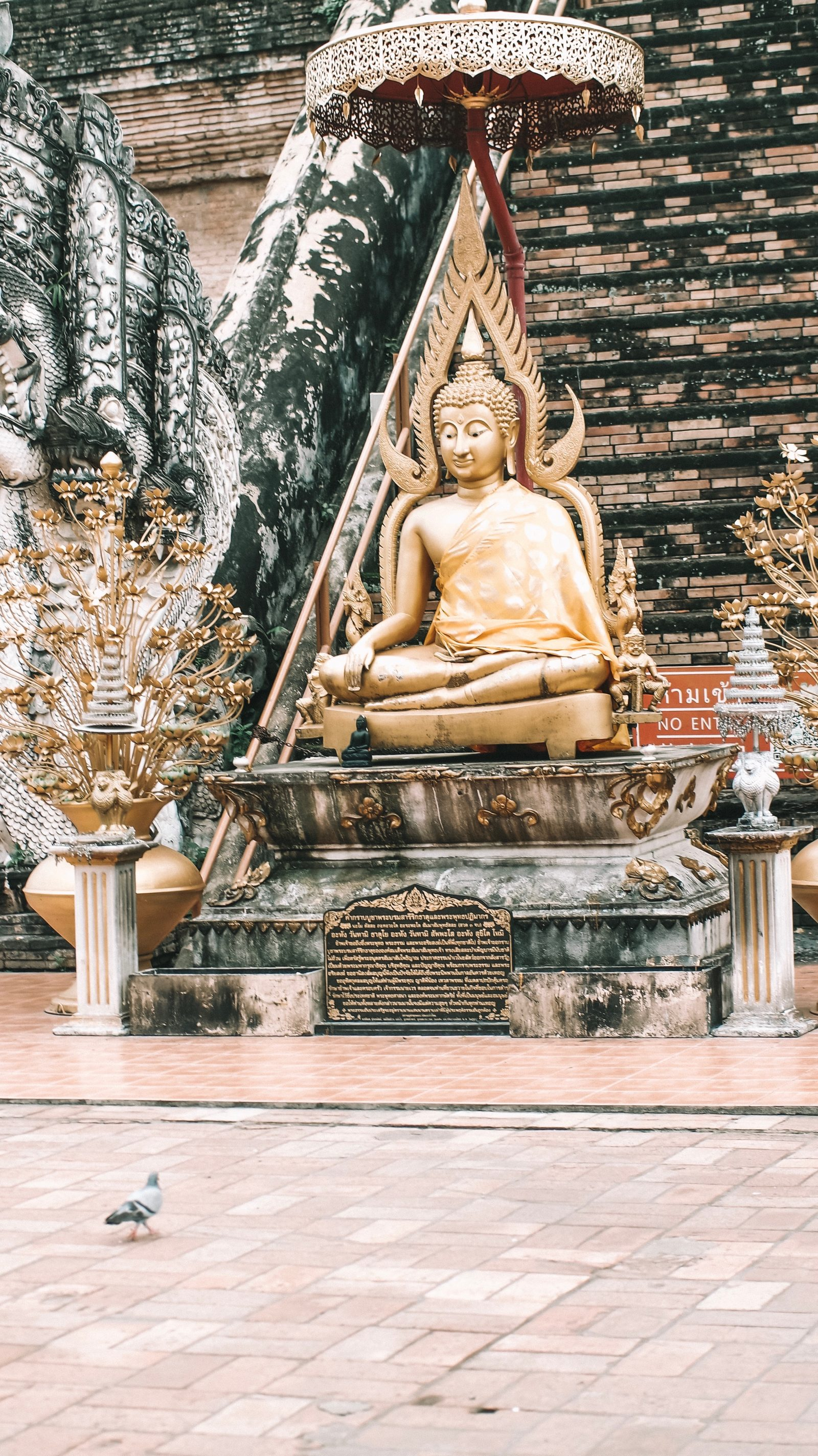 Sightseeing Outfit - Thailand Golden Buddha
