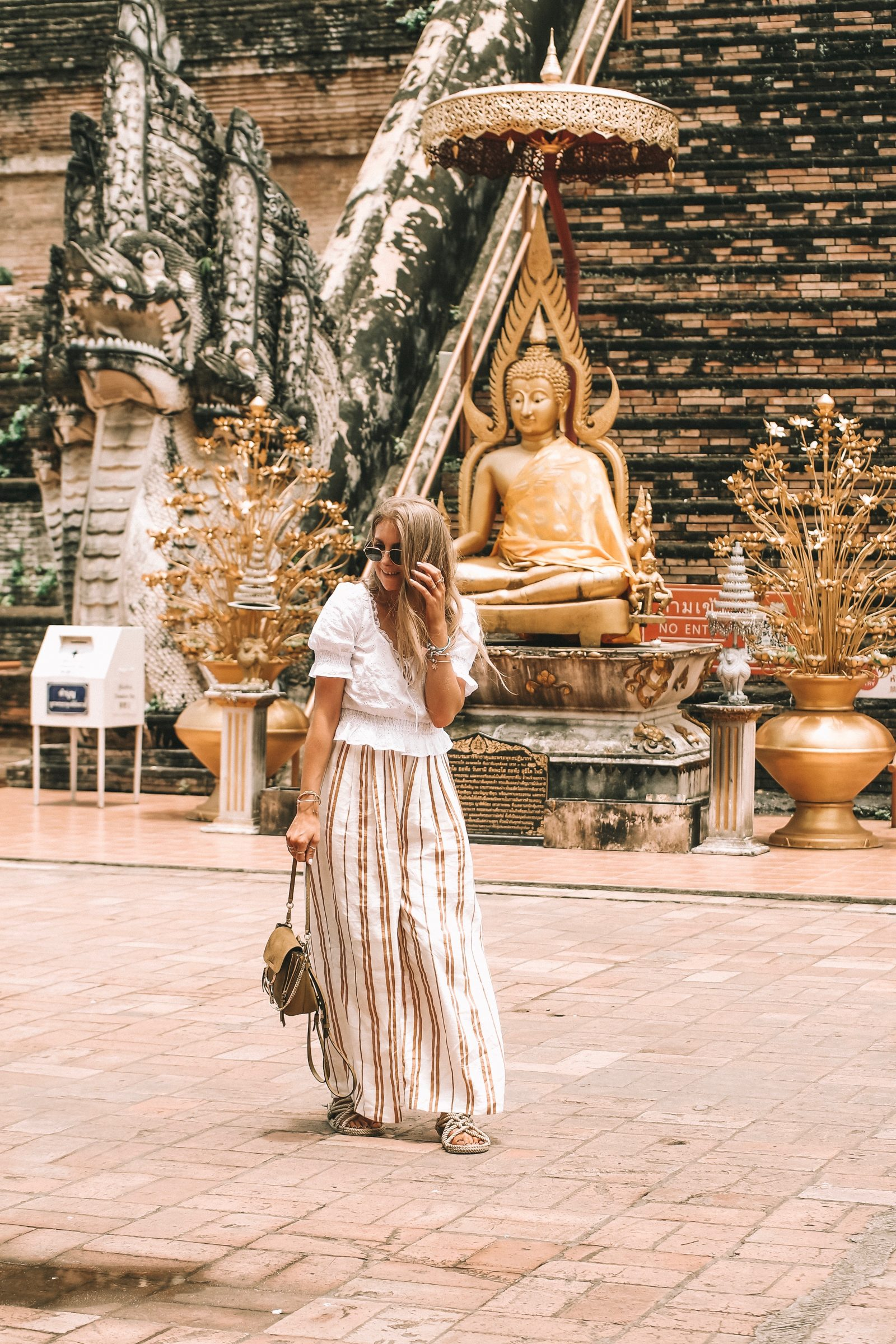 Sightseeing Outfit - Thailand HM Wide Leg Trousers