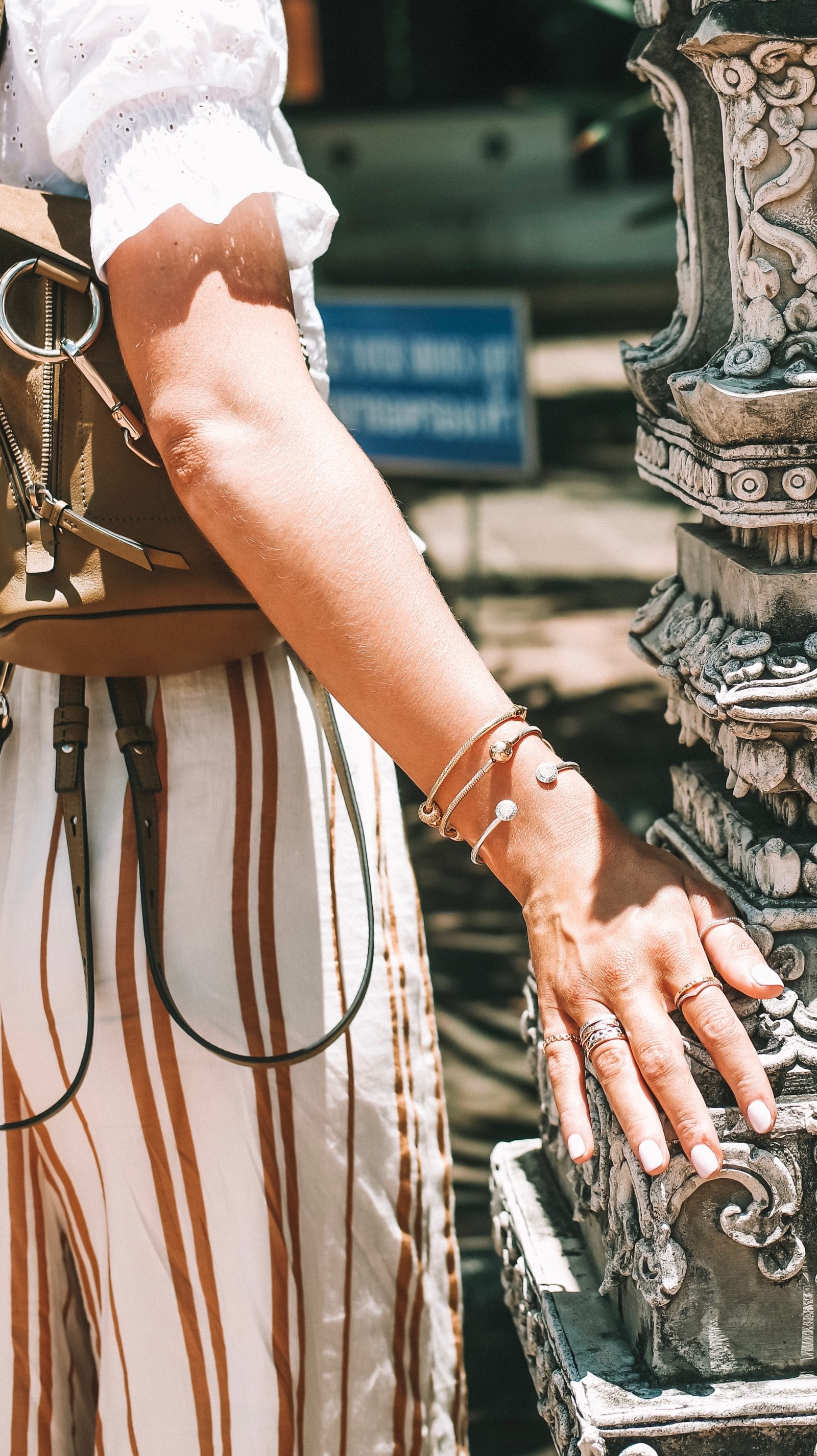 Sightseeing Outfit - Thailand Pandora Silver Bangle
