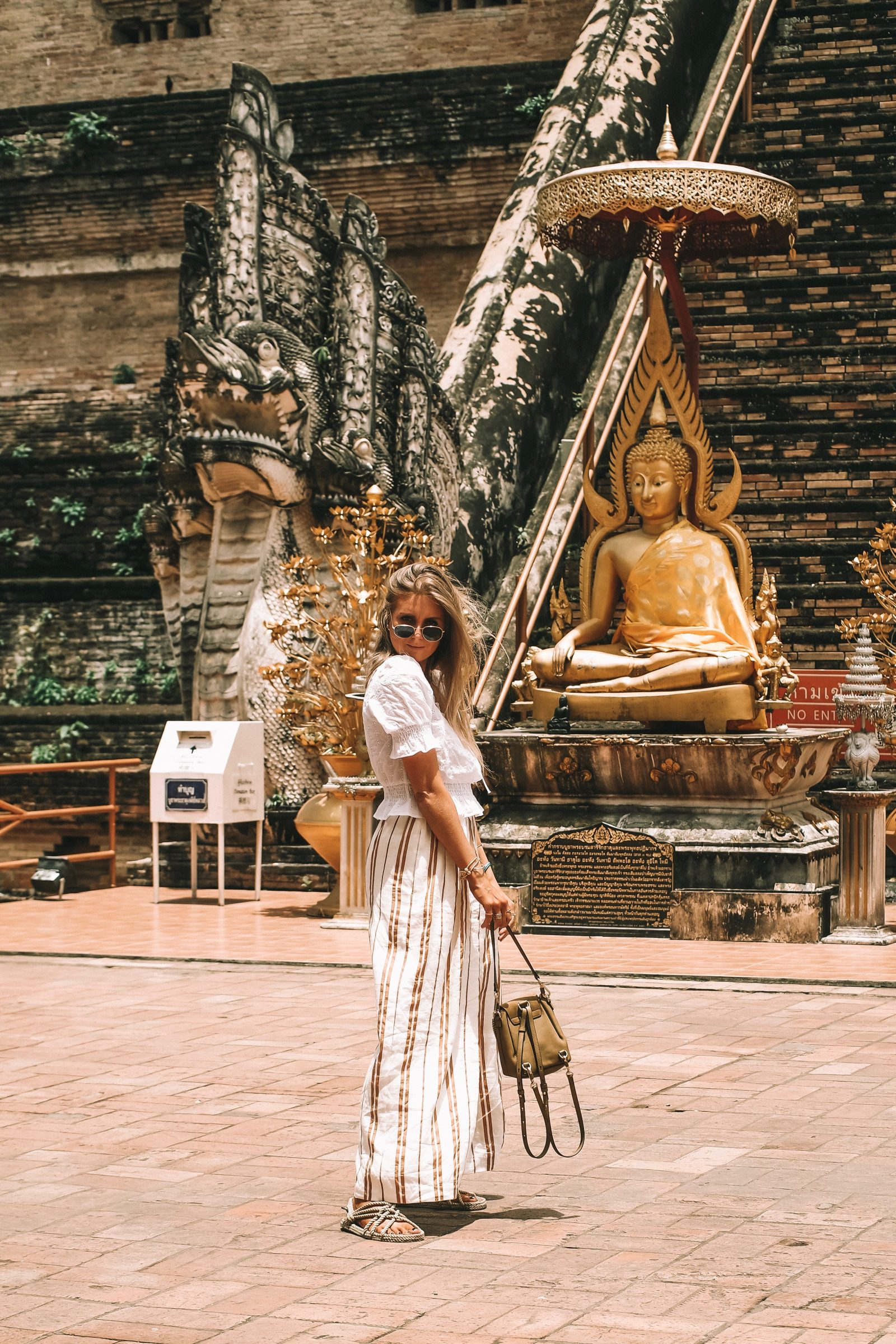 Thailand Outift Diaries - HM Wide Leg Trousers - Chiang Mai Outfit Diaries