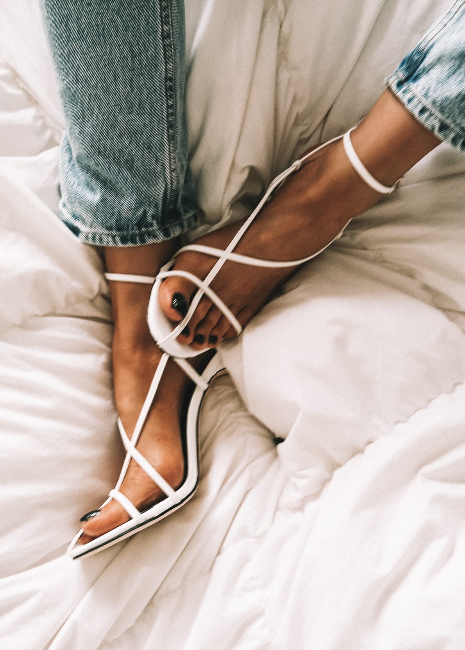 Revolve Cage Shoes - Celine Dupes - Fashion Blogger Sinead Crowe